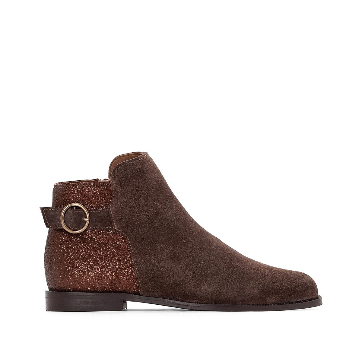 Ботинки-челси кожаные с блестками сзади купить футбольную форму челси торрес