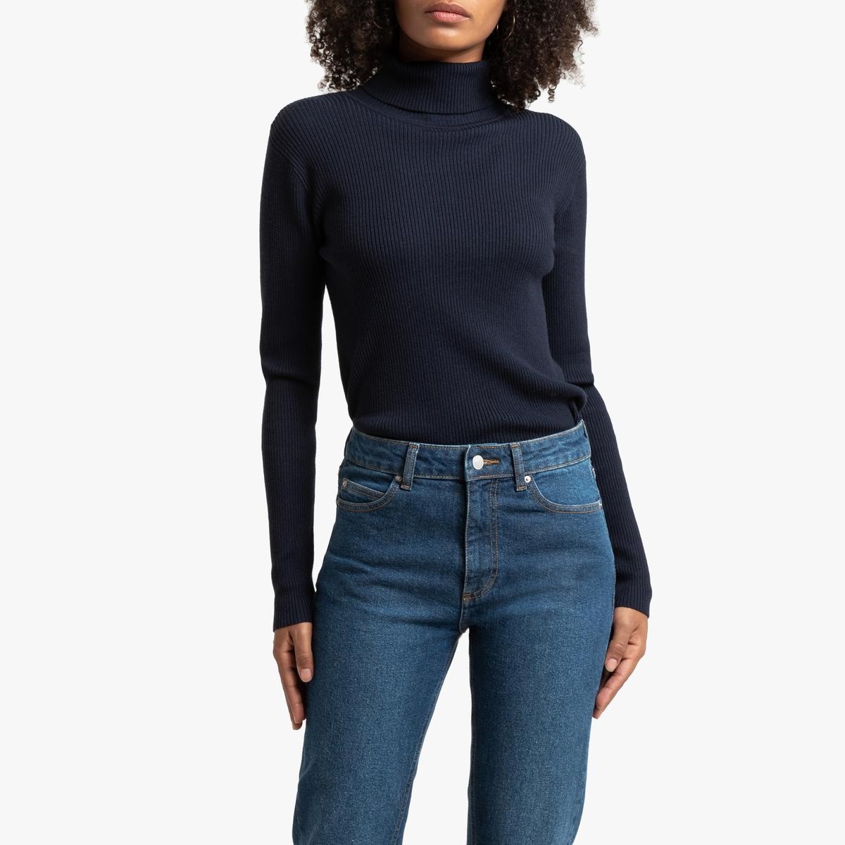 Пуловер La Redoute С воротником-воронка базовая модель M синий воронка megapower m 71316