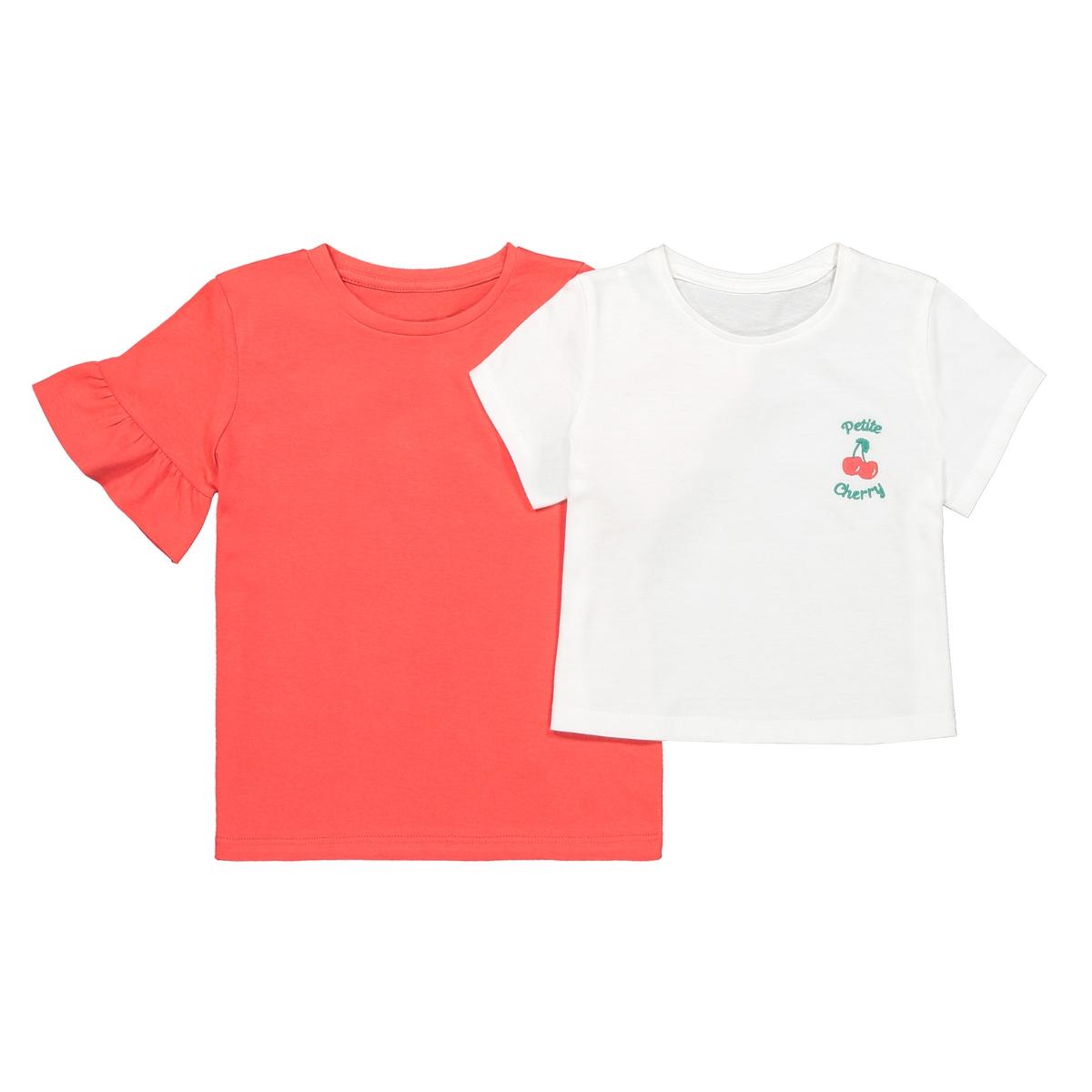 Lote de 2 t-shirts de mangas curtas, 3-12 anos
