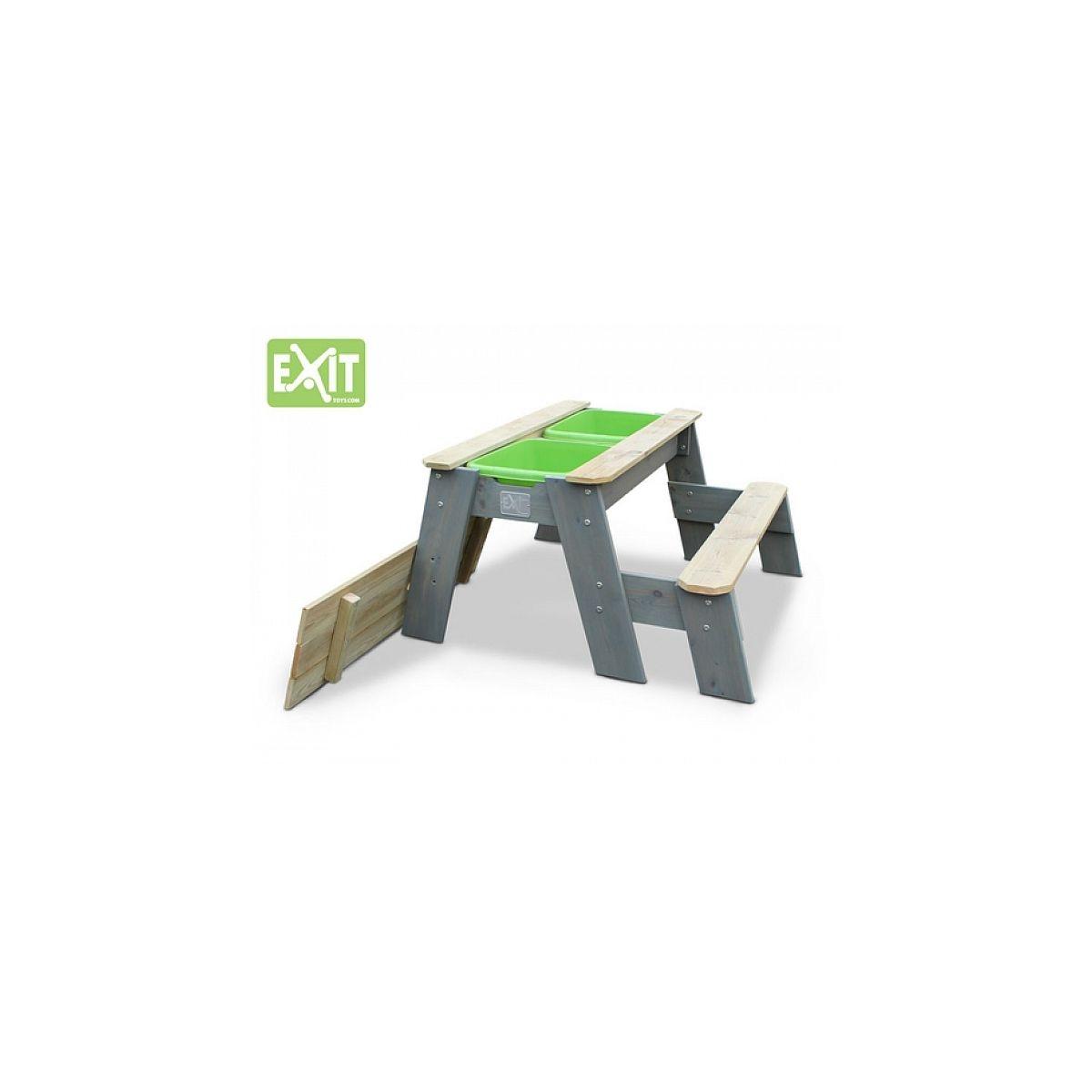 EXIT Aksent Table ? sable, eau et pique-nique + 1 banc