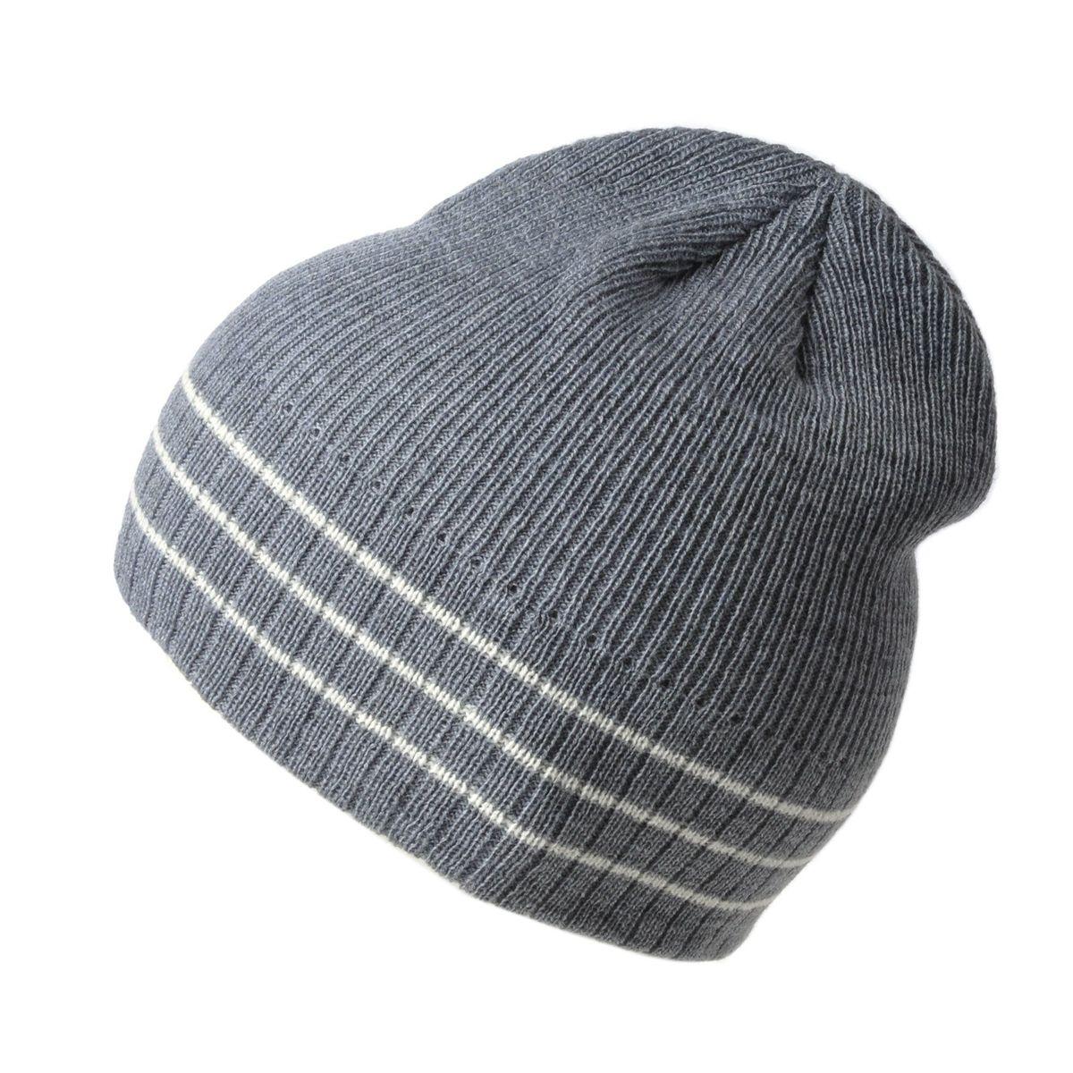 Bonnet tricot rayé