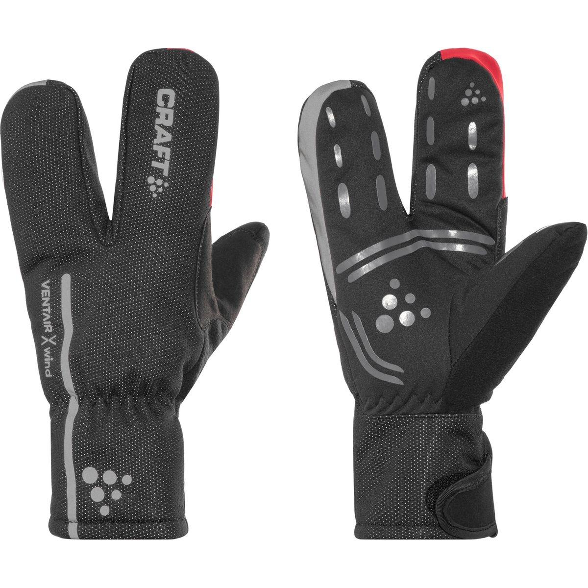 Bike Thermal Split Finger Gants noir