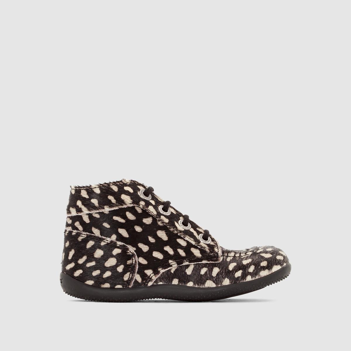 Ботинки кожаные Bonbon