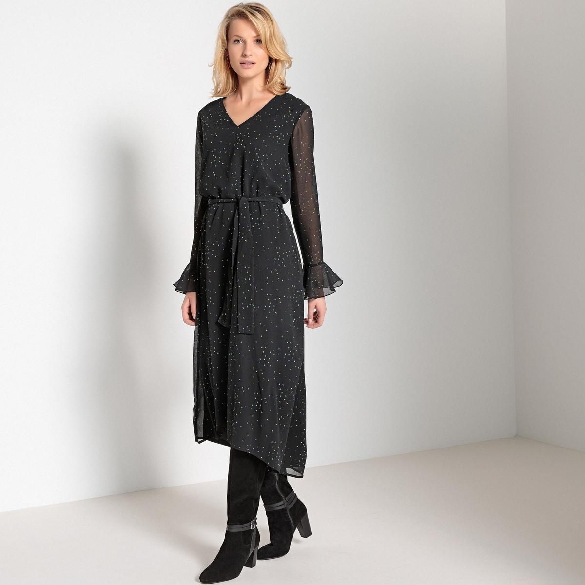 Платье длинное асимметричное с длинными рукавами кутюр осень клуб европы новые длинные глубокий v шеи холтер низкой вырезать платье накладки 21706