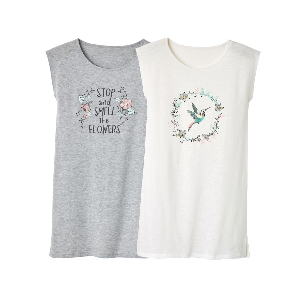 2 ночные сорочки ночные сорочки и рубашки