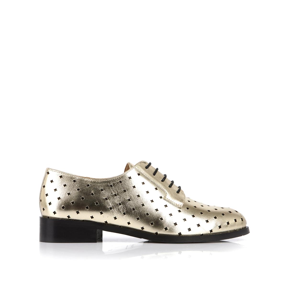 Ботинки-дерби кожаные Charly ботинки дерби под кожу питона