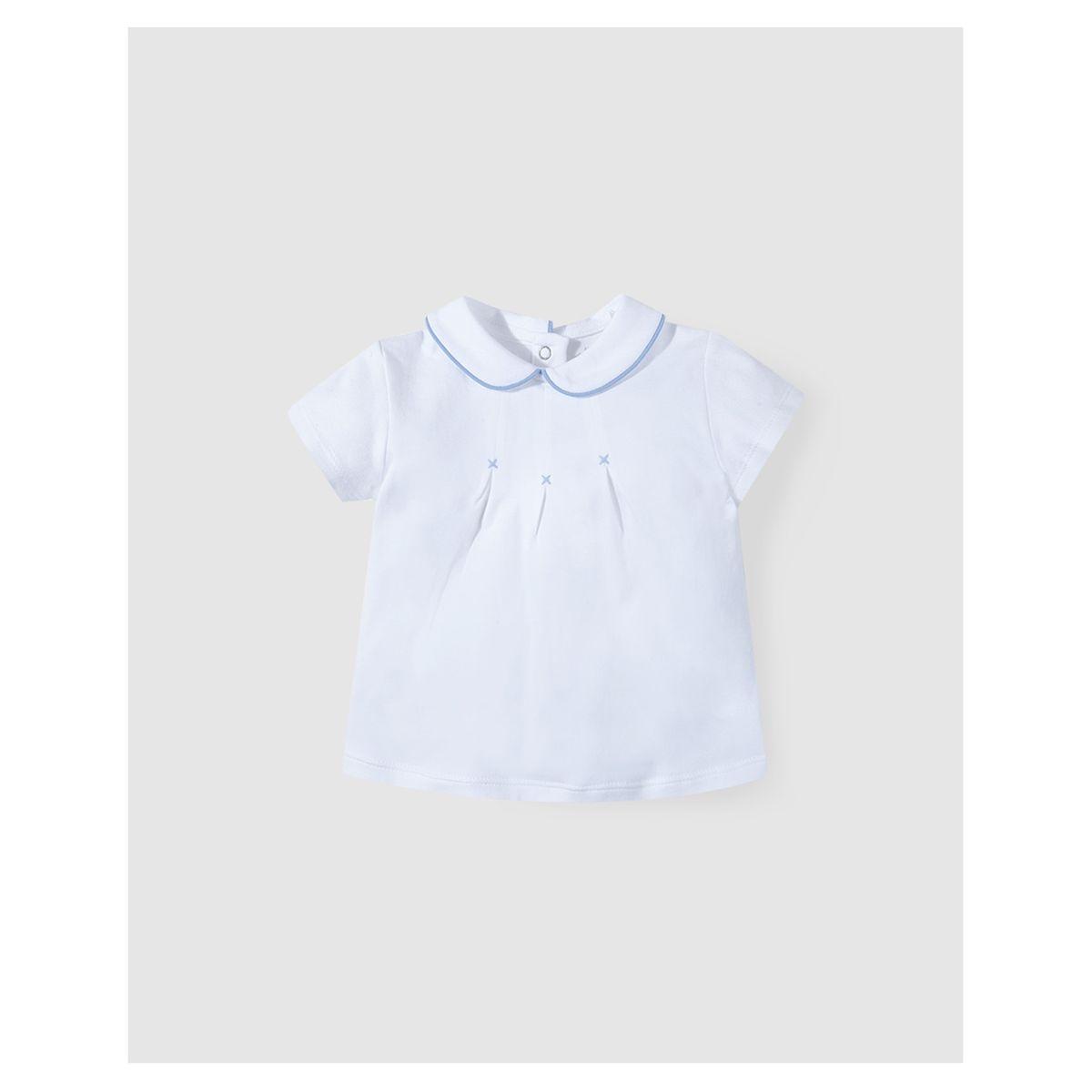 Chemise   à plis