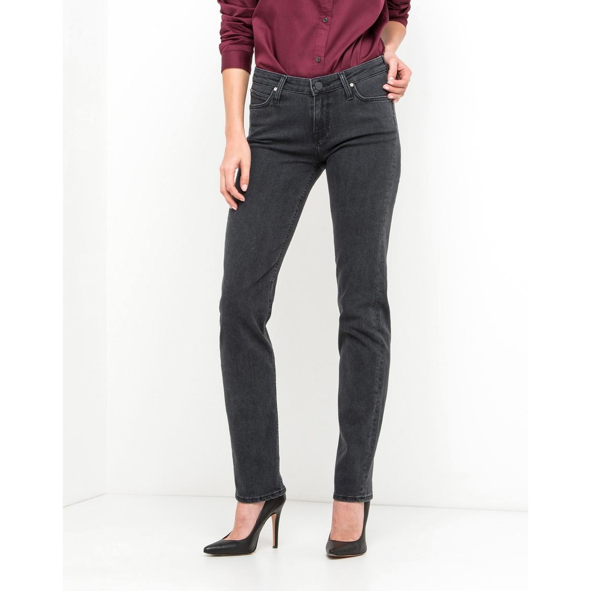 Jeans straight, vita normale, lunghezza 31