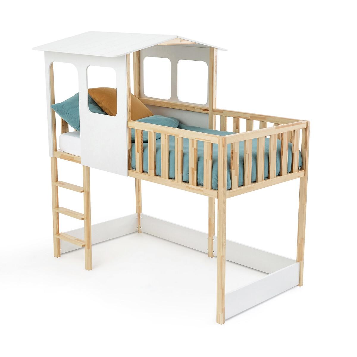 Кровать-домик LaRedoute С кроватным основанием Sebara 90 x 190 см белый