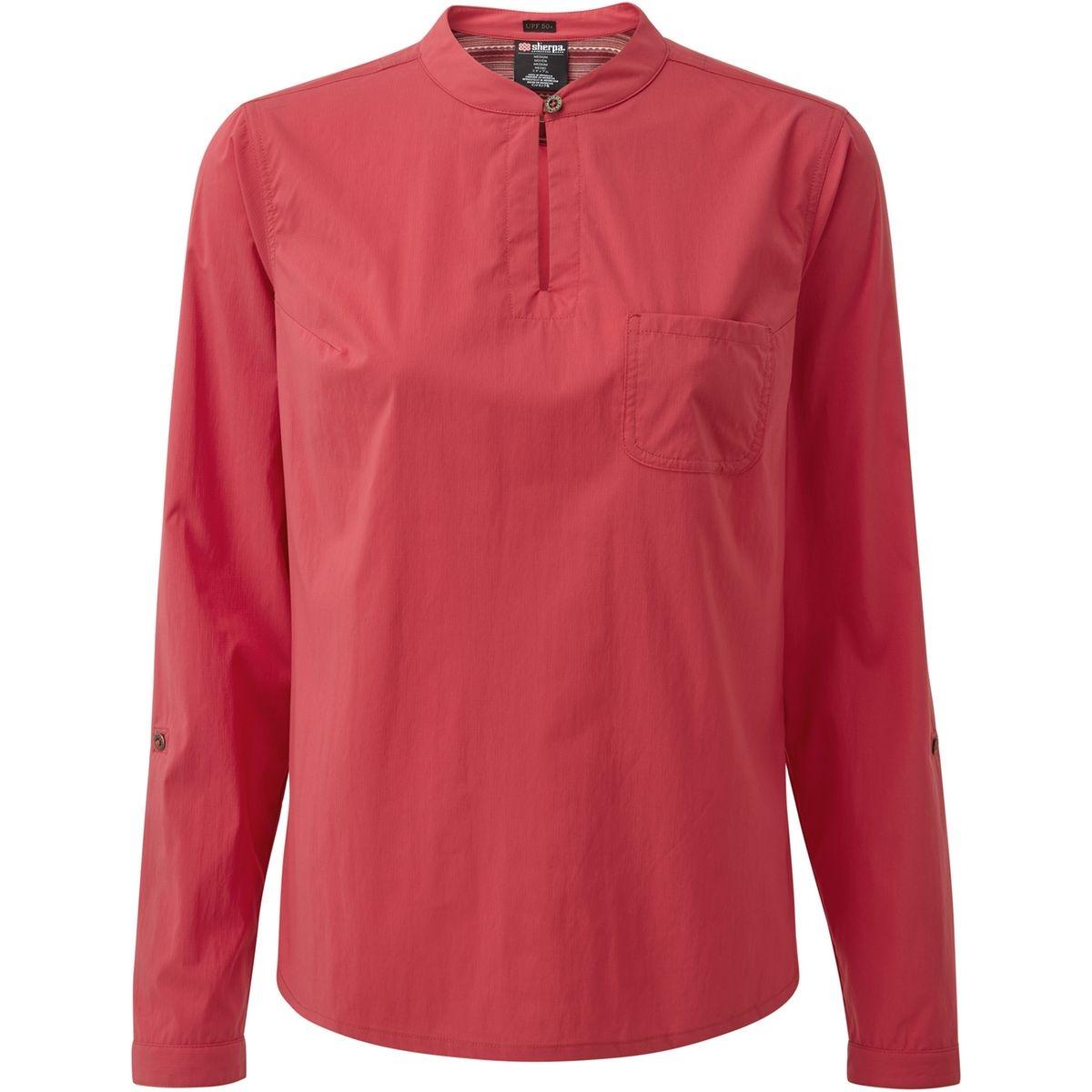 Ravi - T-shirt manches longues Femme - rose
