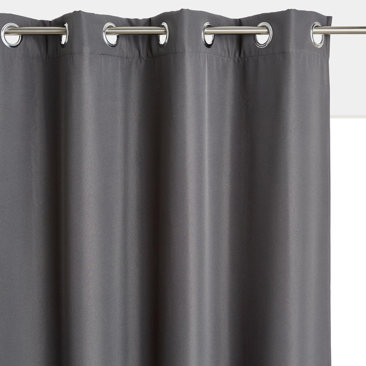 Шторы LaRedoute Tobison 220 x 140 см серый
