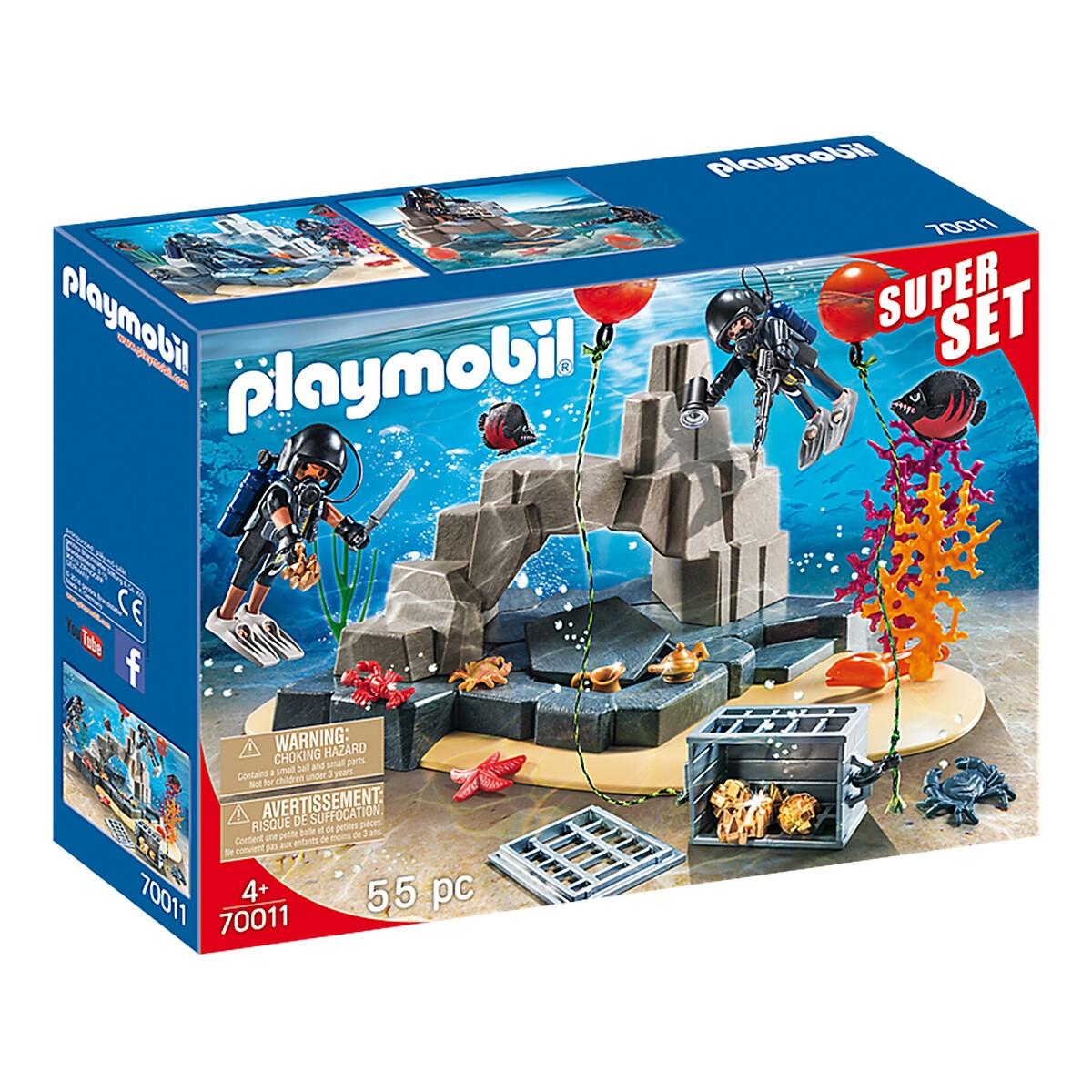 An image of Playmobil Superset Scuba Diving Unit, 70011