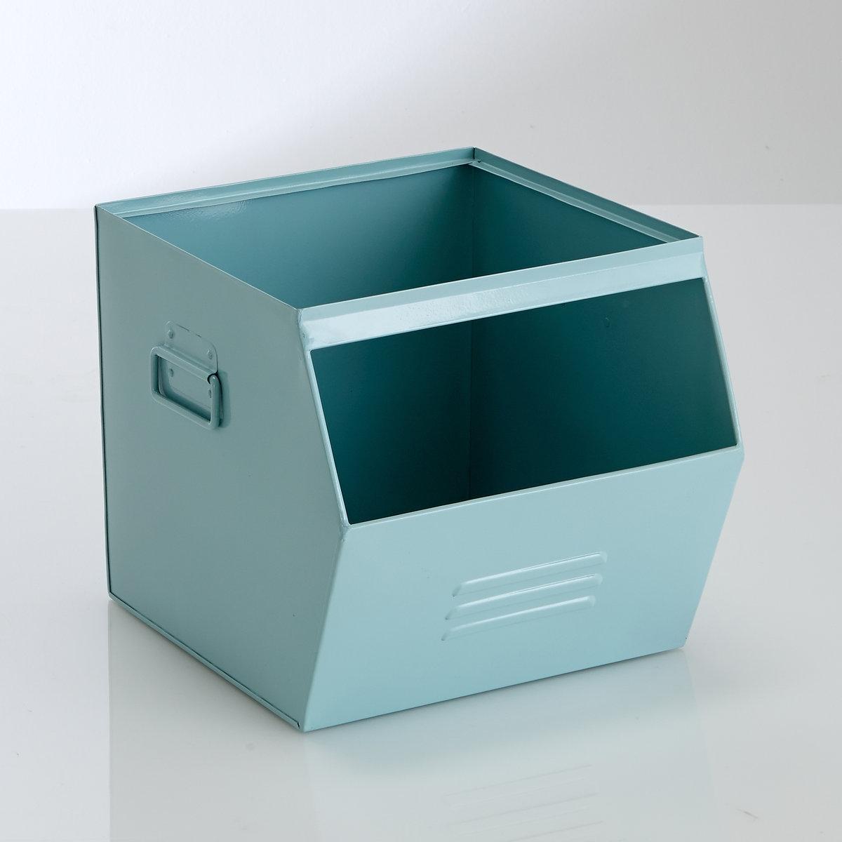 Ящик из гальванизированного металла, HibaДетская или комната подростка, прихожая, встроенные шкафы…Ящик из гальванизированного металла Hiba можно наполнить, чем угодно  : Позволяет легко и практично разместить вещи в духе современных тенденций .Для версии серый металлик, эффект старины делает каждое изделие уникальным . Неоднородность, которая может проявиться, подчеркивает аутентичность изделия .  Описание ящика Hiba Ручки сбоку .Отделение для этикеток сбоку .Характеристики ящика HibaГальванизированный металл, покрытый эпоксидной краской .Ящик Hiba поставляется в собранном виде .Найдите другую мебель и модели из коллекции Hiba на нашем сайте ..Размеры ящика HibaШирина : 36 смВысота : 30 смГлубина : 33 см.<br><br>Цвет: розовый