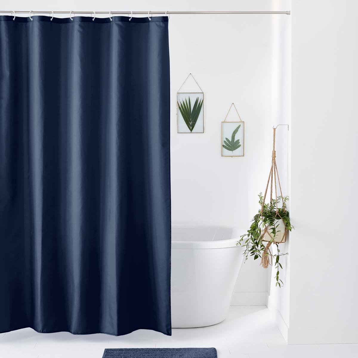 Штора La Redoute Для душа Scnario 200 x 180 см синий штора для ванной dasch la vita кораллы цвет мультиколор 178 х 200 см