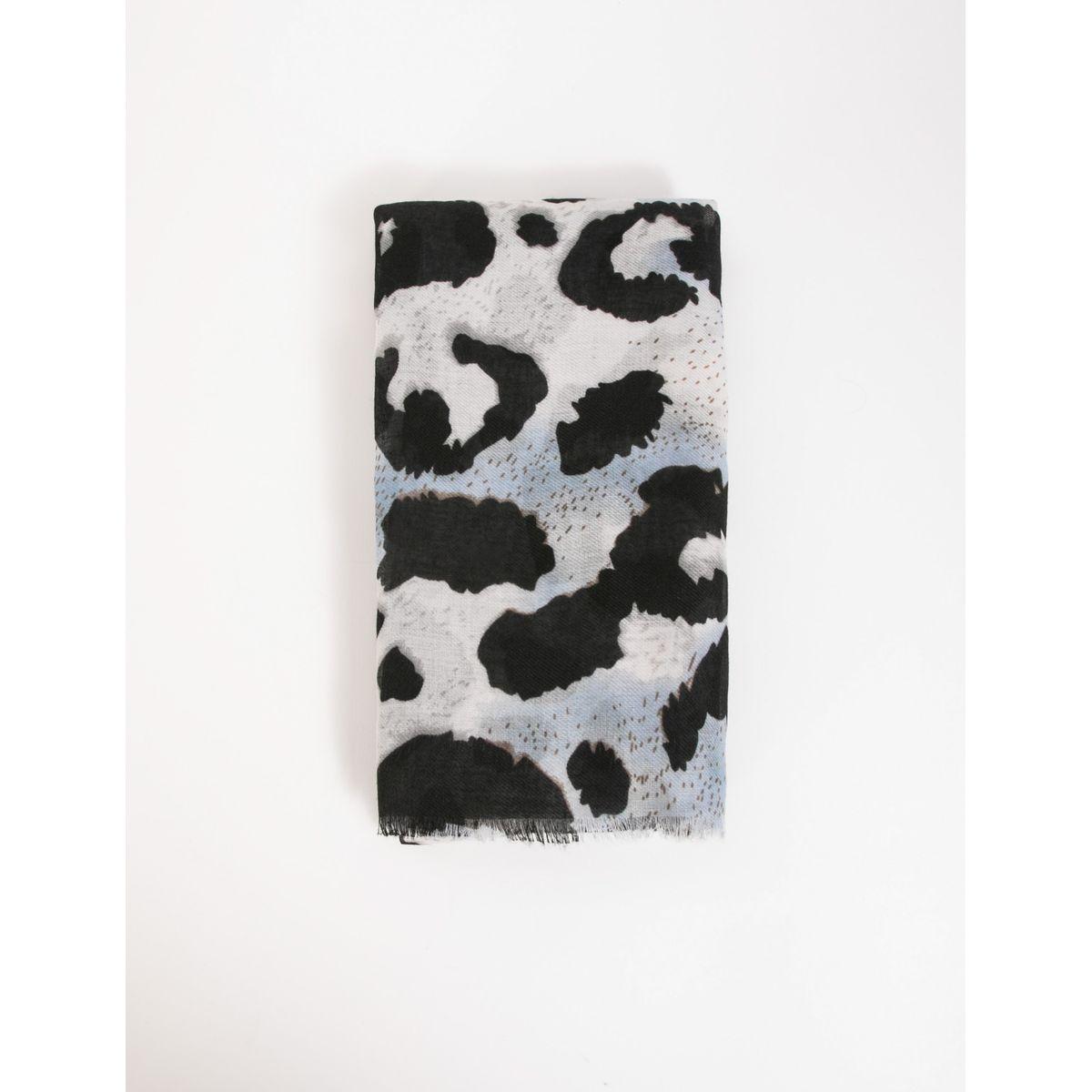 Foulard imprimé animalier