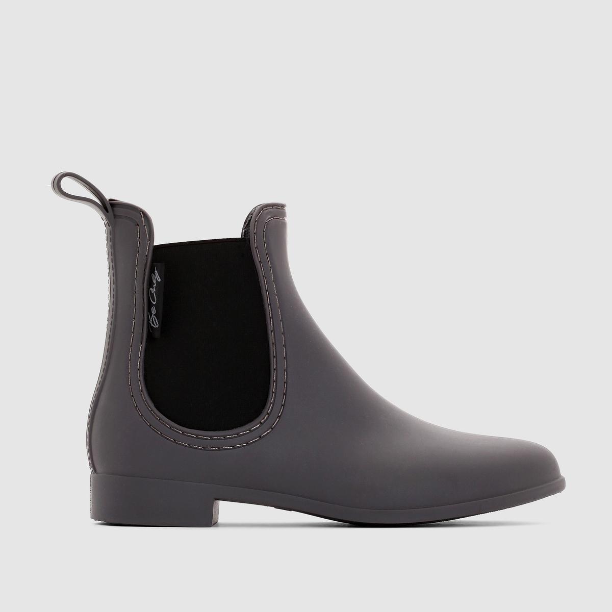 Ботинки-челси Be Only BEATLEБотинки из модной линейки челси, стойкие к дождю : прекрасный  стильный выбор для ненастной погоды   !<br><br>Цвет: серый