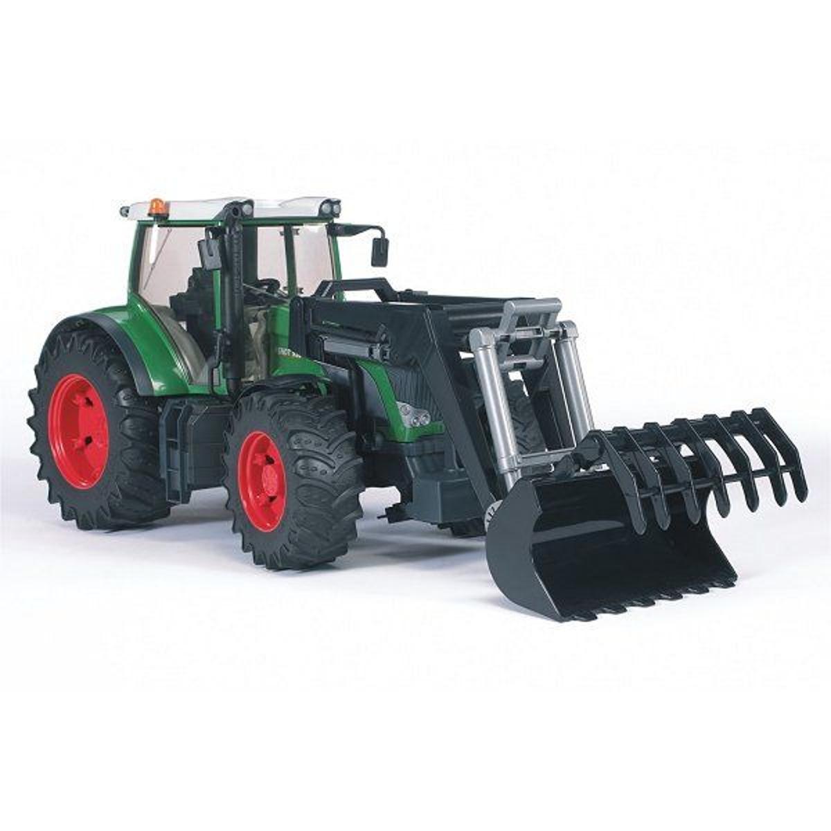 Tracteur Fendt 936 Vario avec fourche