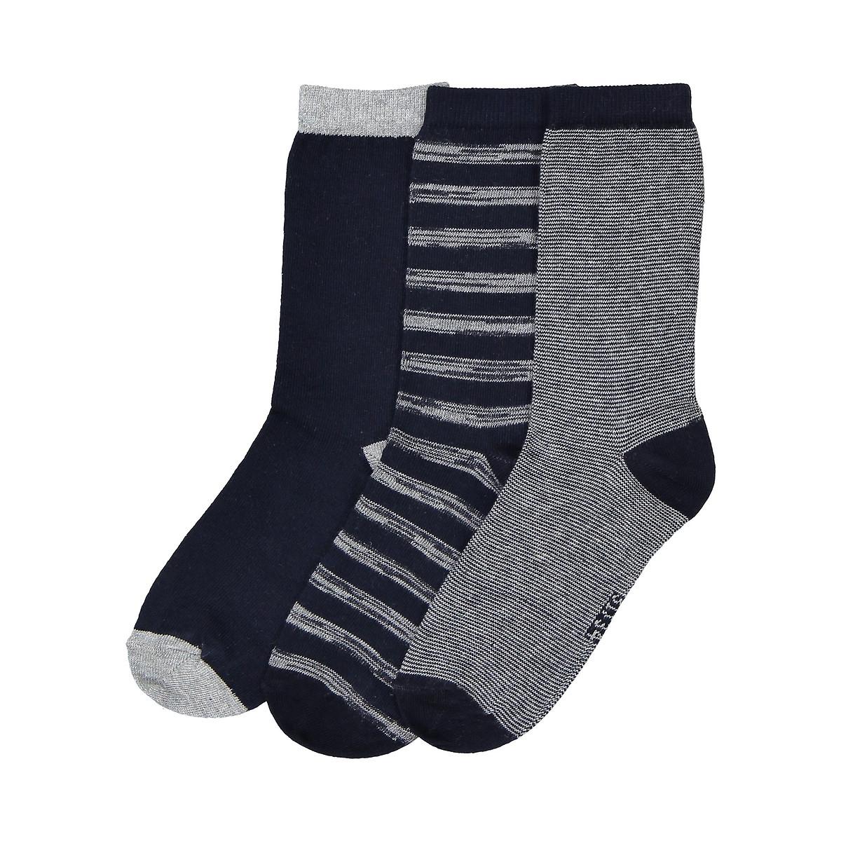 Комплект из 3 пар носков LaRedoute