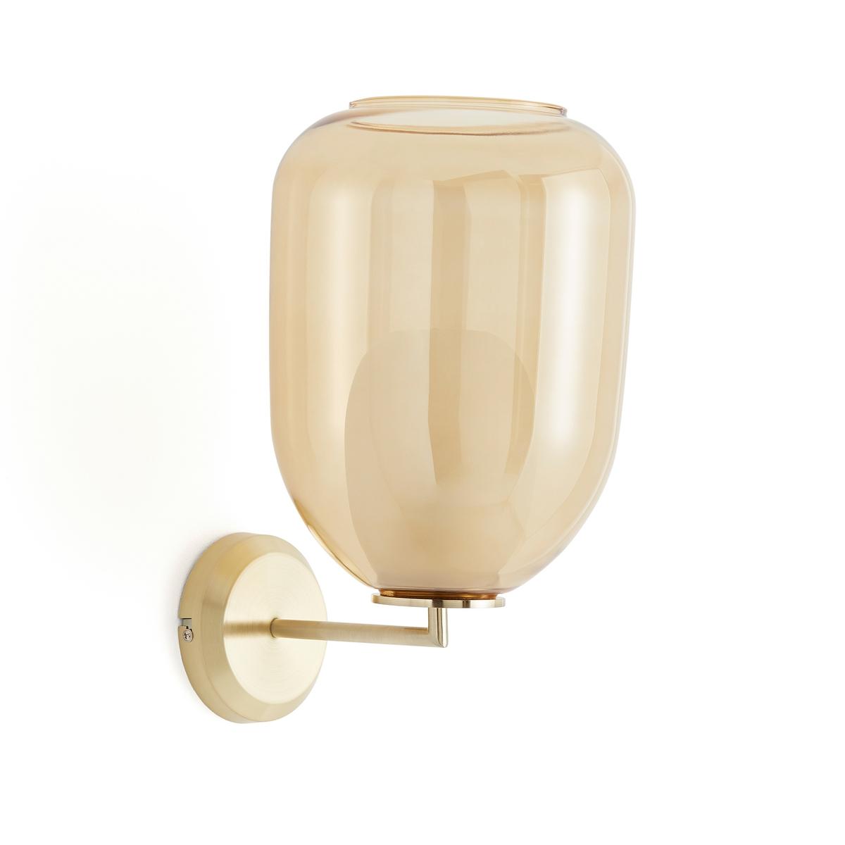 Светильник La Redoute Из латуни с двойным стеклом Bumble единый размер желтый