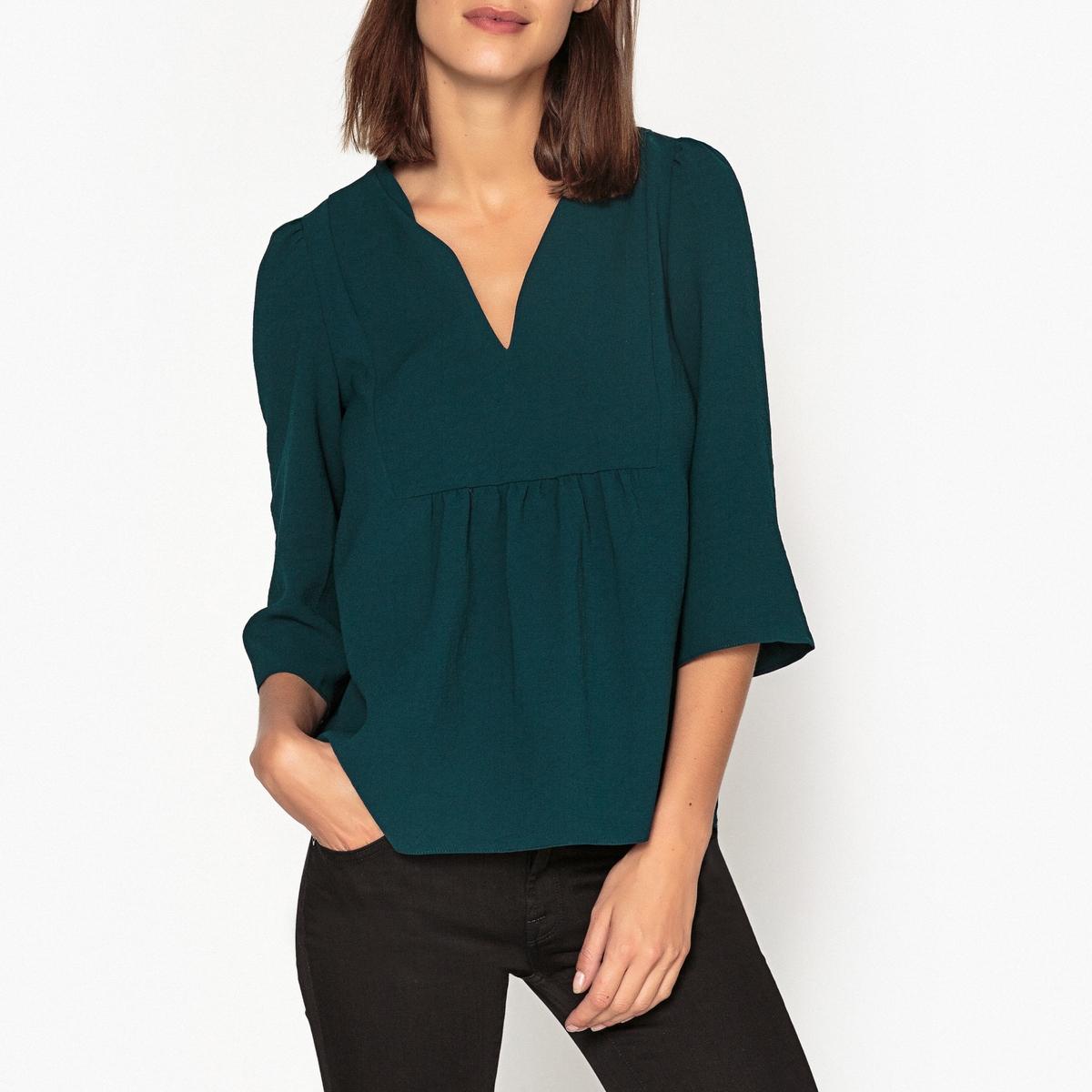 Блуза с V-образным вырезом COME модные мужские o образным вырезом кабины print pullover t shirts