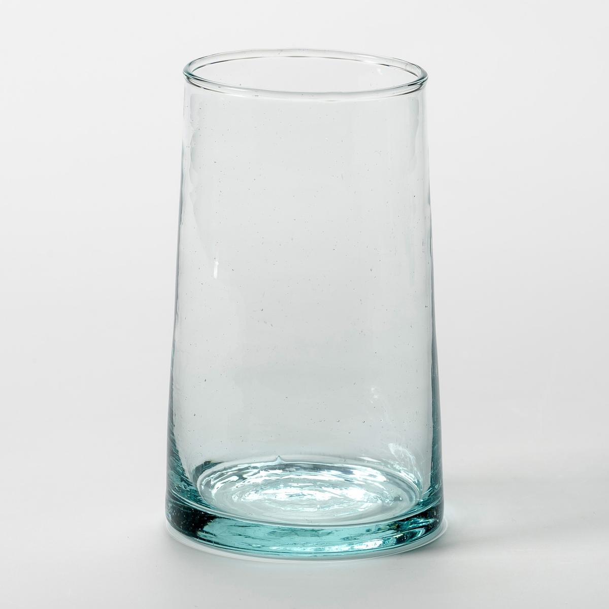 6 стаканов для сока из дутого стекла, Gimani6 стаканов для сока Gimani. Изготовлена с помощью техники выдувания, из переработанного стекла. Благодаря технике стеклодувов каждое изделие уникально. Общие размеры. : ? верха 6,5, ? низа 7,5 x В.12 см. Емкость 30 cl. Можно использовать в посудомоечных машинах и микроволновых печах. Салатницы и графины из этой же коллекции продаются на нашем сайте.<br><br>Цвет: прозрачный