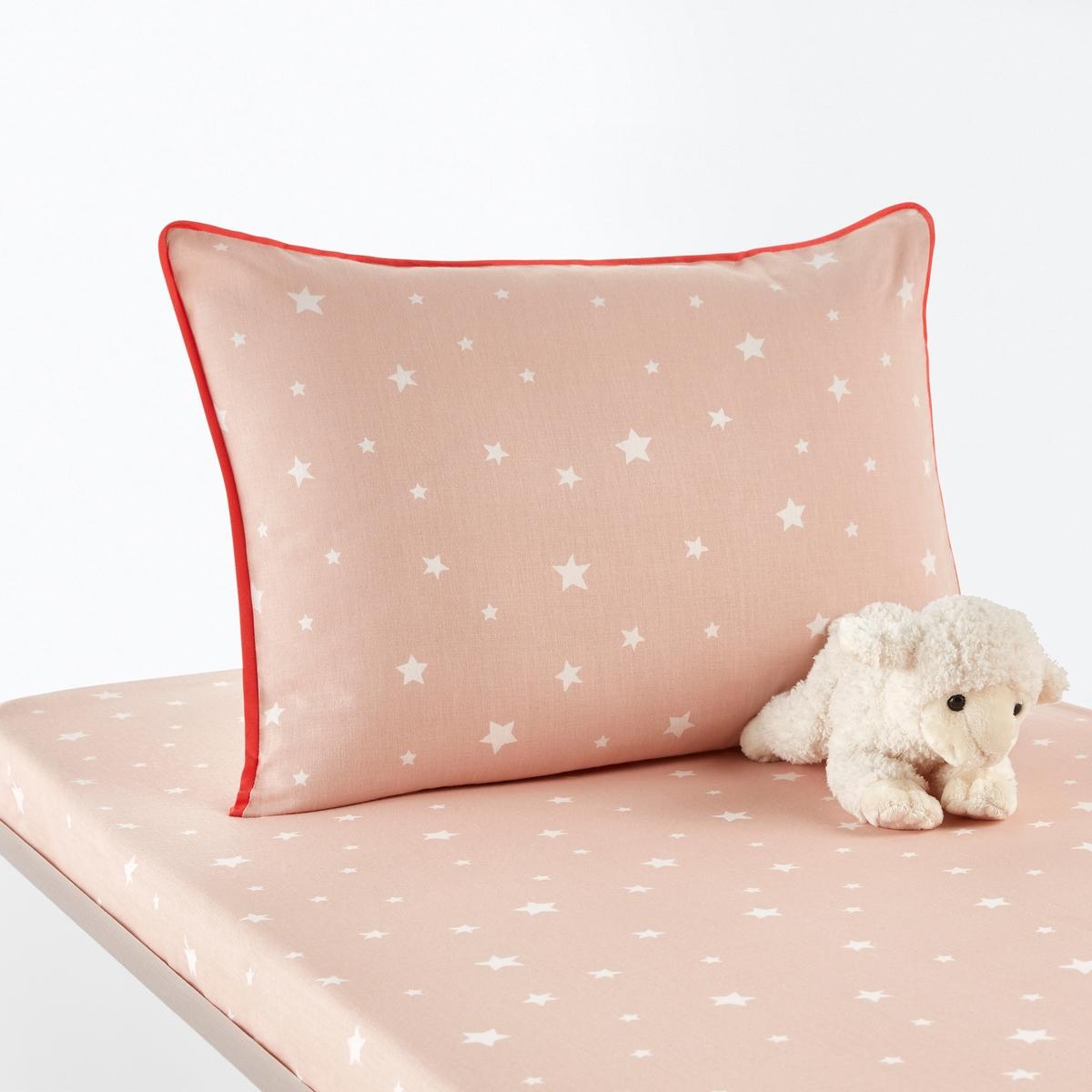 Baby-Kissenbezug ÉTOILES aus reiner Baumwolle | Kinderzimmer > Textilien für Kinder > Babytextilien | Baumwolle - Bedruckt | La Redoute Interieurs