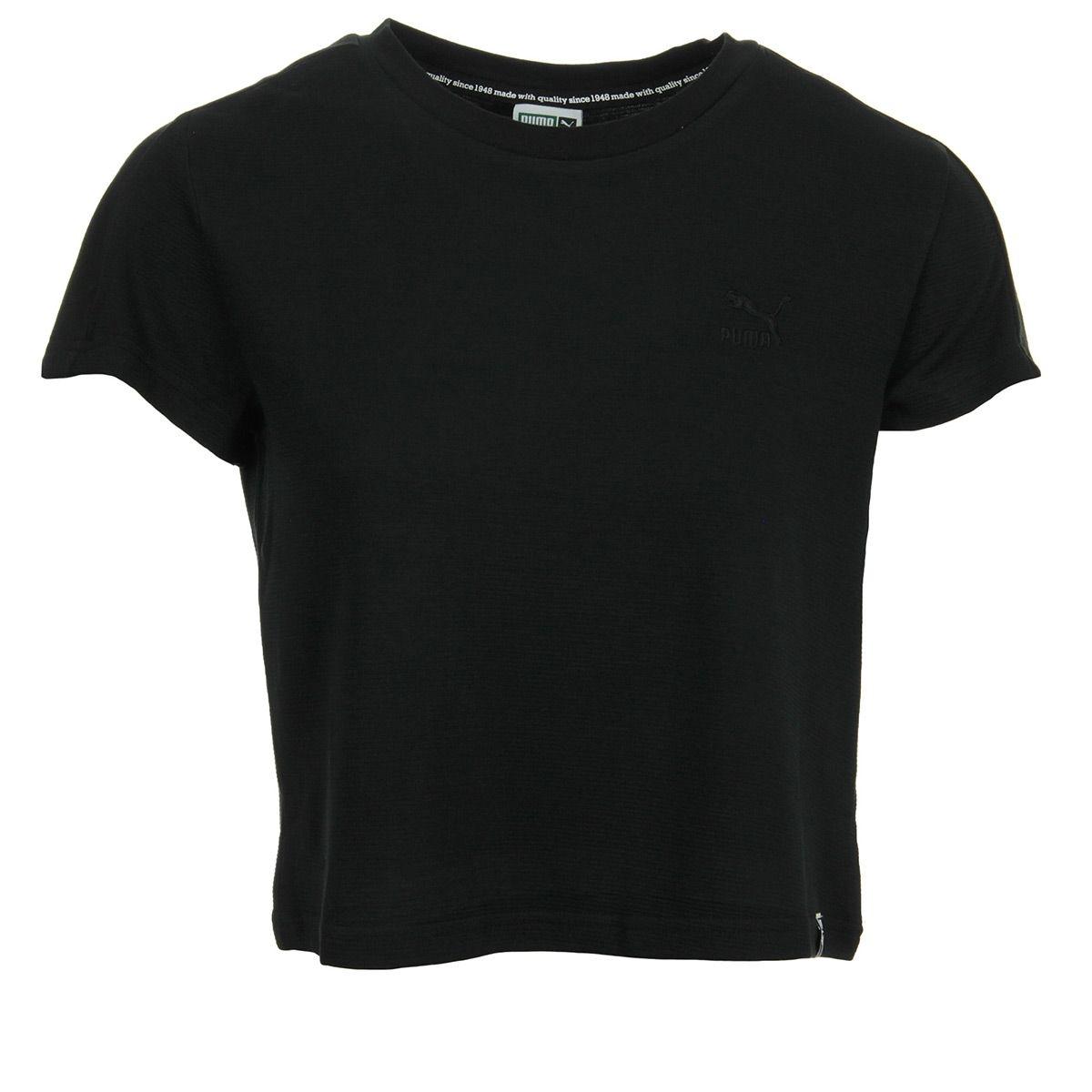 T-shirt femme Classics Structured Cotton Black
