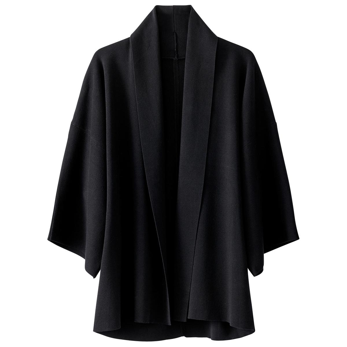 Chaqueta de punto estilo kimono Lyocell