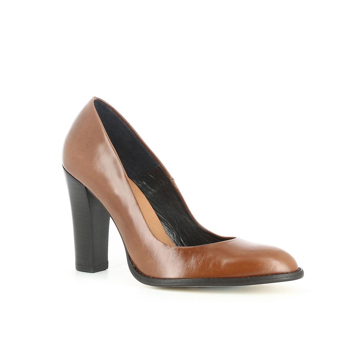 цены на Туфли кожаные на высоком каблуке 11286 в интернет-магазинах