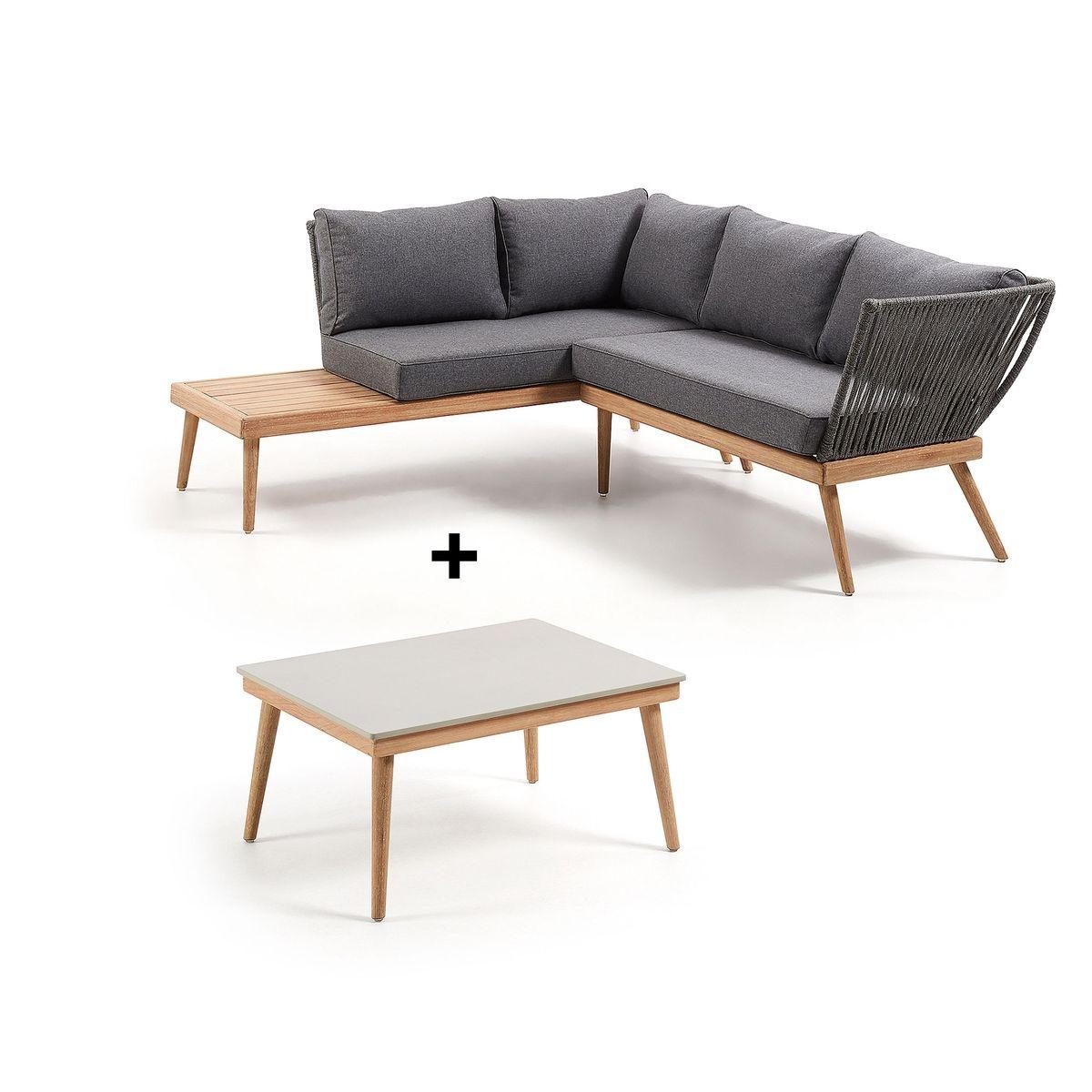 Ensemble canapé et table basse Ramson