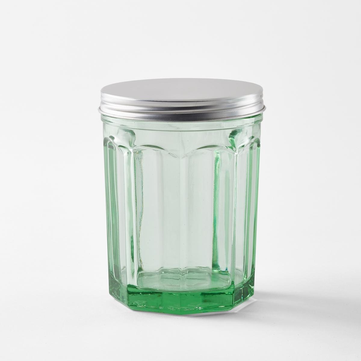Горшок маленький с крышкой Fish&amp;Fish Paola Navone<br><br>Цвет: темно-зеленый<br>Размер: единый размер