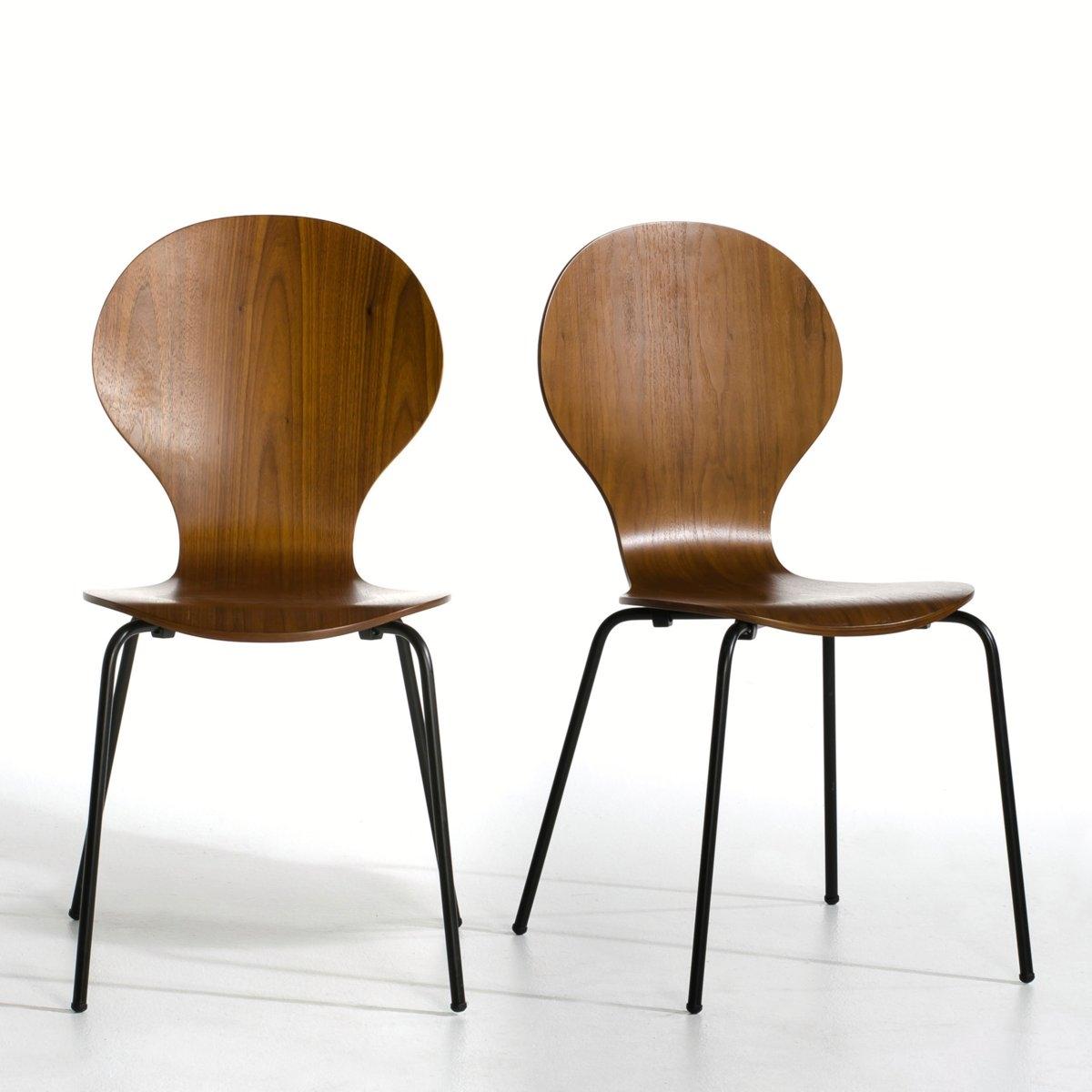 2 стула, Watford2 стула Watford. Легкие и стильные стулья Watford оживят ваш интерьер и будут служить вам долго.Характеристики стульев Watford : Поверхность из фанеры под орех, НЦ-лакировка. Ножки из стальной трубки с эпоксидным черным покрытием. Другие предметы мебели из коллекции  Watford на сайте laredoute.ruРазмеры стульев Watford : ОбщиеШирина : 55 см.Высота : 86 см.Глубина : 46 смСиденье : 43 x 46 смРазмеры и вес упаковки :1 упаковка59 x 46 x 30 см10,2 кгДоставка :Стулья Watford продаются в разобранном виде. Доставка до квартиры !Внимание ! .<br><br>Цвет: небесно-голубой,ореховый