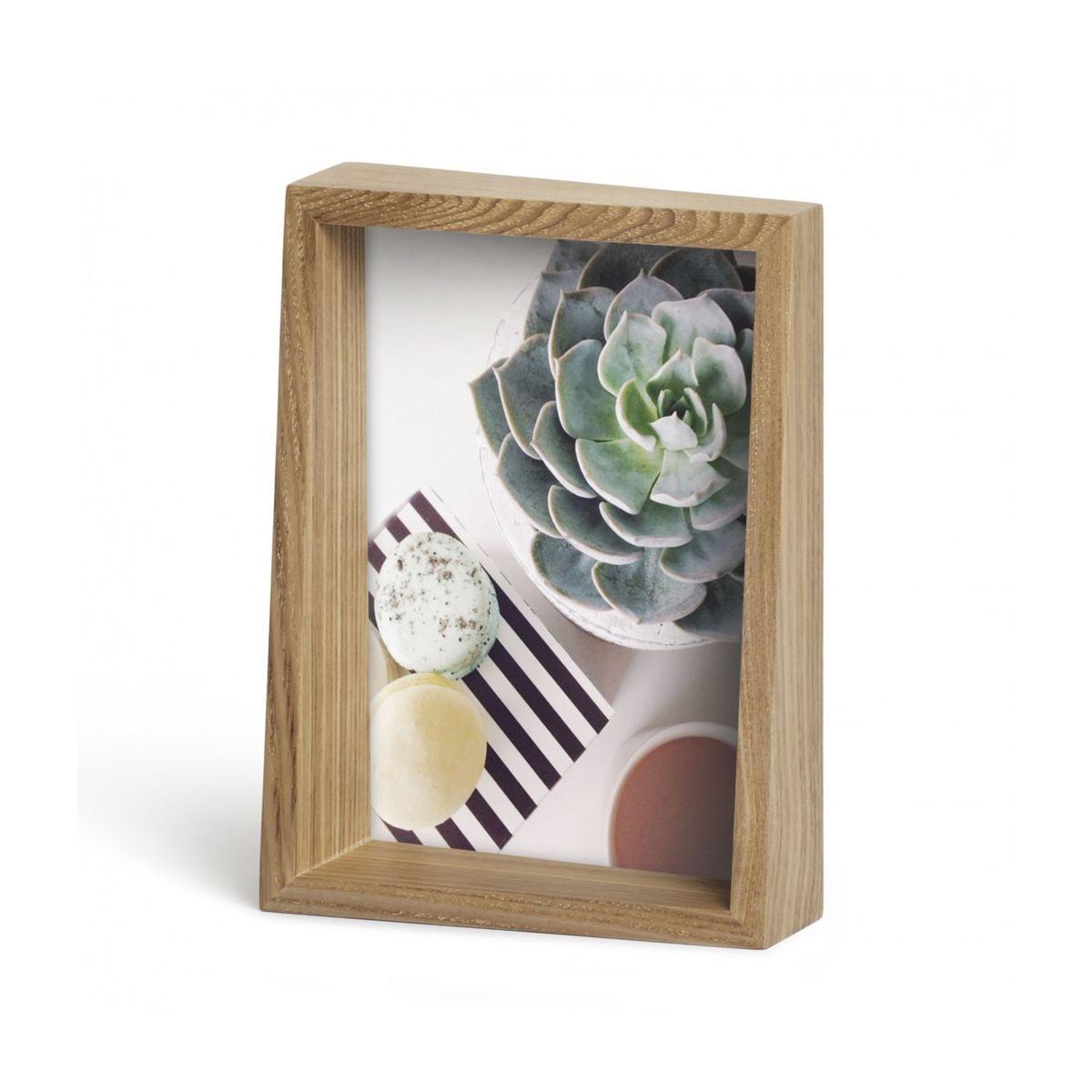 Cadre Edge Frêne Naturel pour Photo 13 x 18 cm Umbra