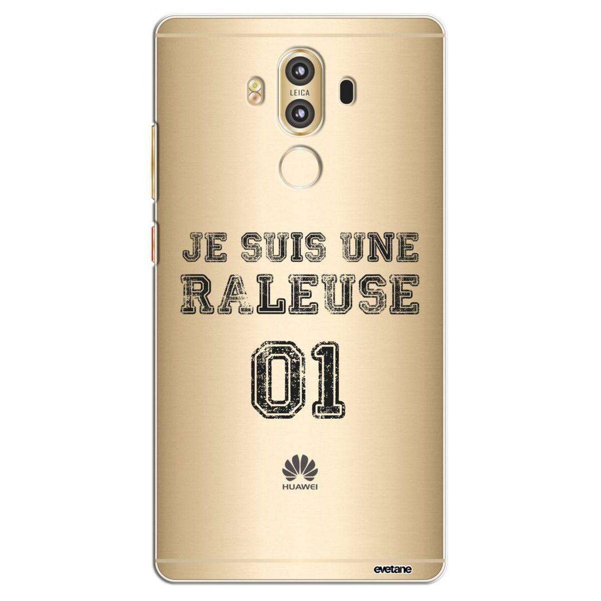 Coque Huawei Mate 9 rigide transparente, Râleuse, Evetane®