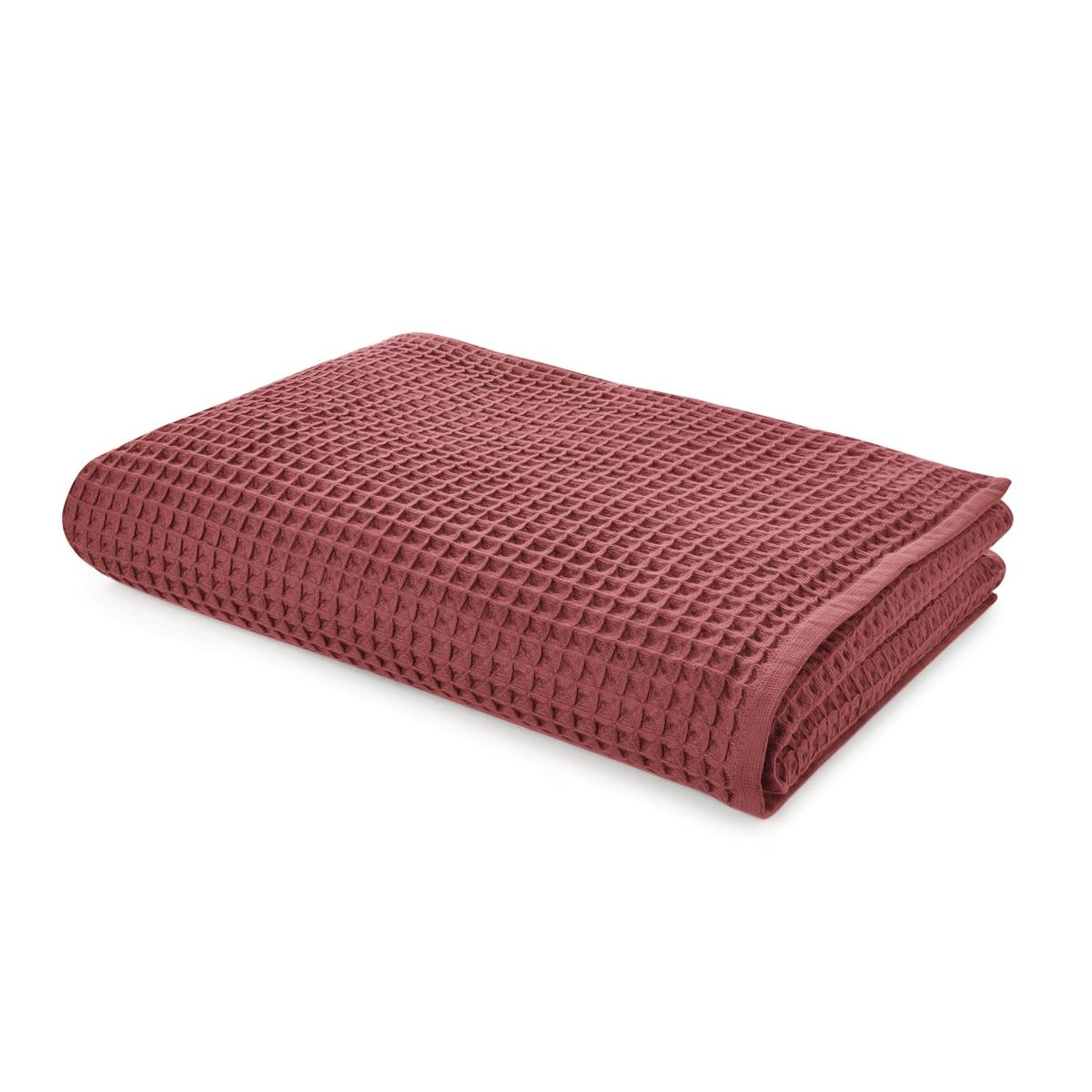 цена Полотенце La Redoute Для рук из вафельной ткани SCENARIO 50 x 100 см оранжевый онлайн в 2017 году