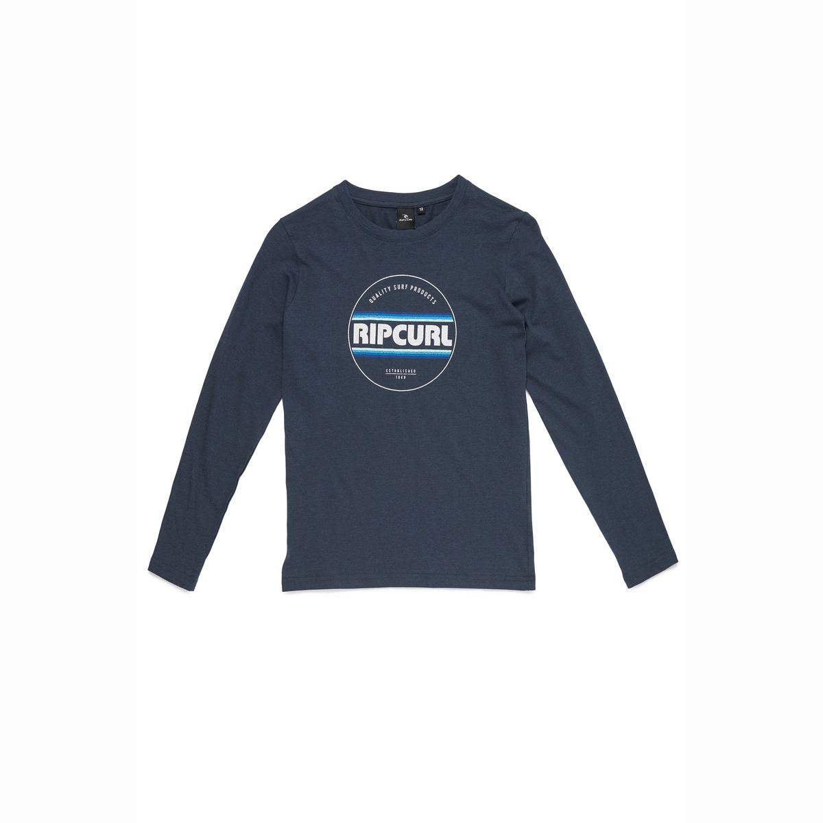 Футболка с длинными рукавами, 8-16 лет футболка rip curl футболка artee ss tee