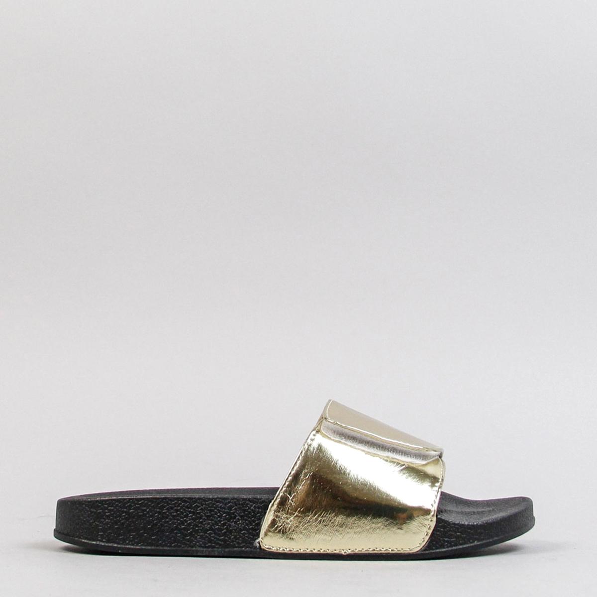 Туфли без задника MaltaВерх/Голенище : Текстиль  Подкладка : Текстиль  Стелька : Текстиль  Подошва : каучук   Форма каблука : плоский каблук  Мысок : закругленный.  Застежка : без застежки<br><br>Цвет: золотистый<br>Размер: 38.39