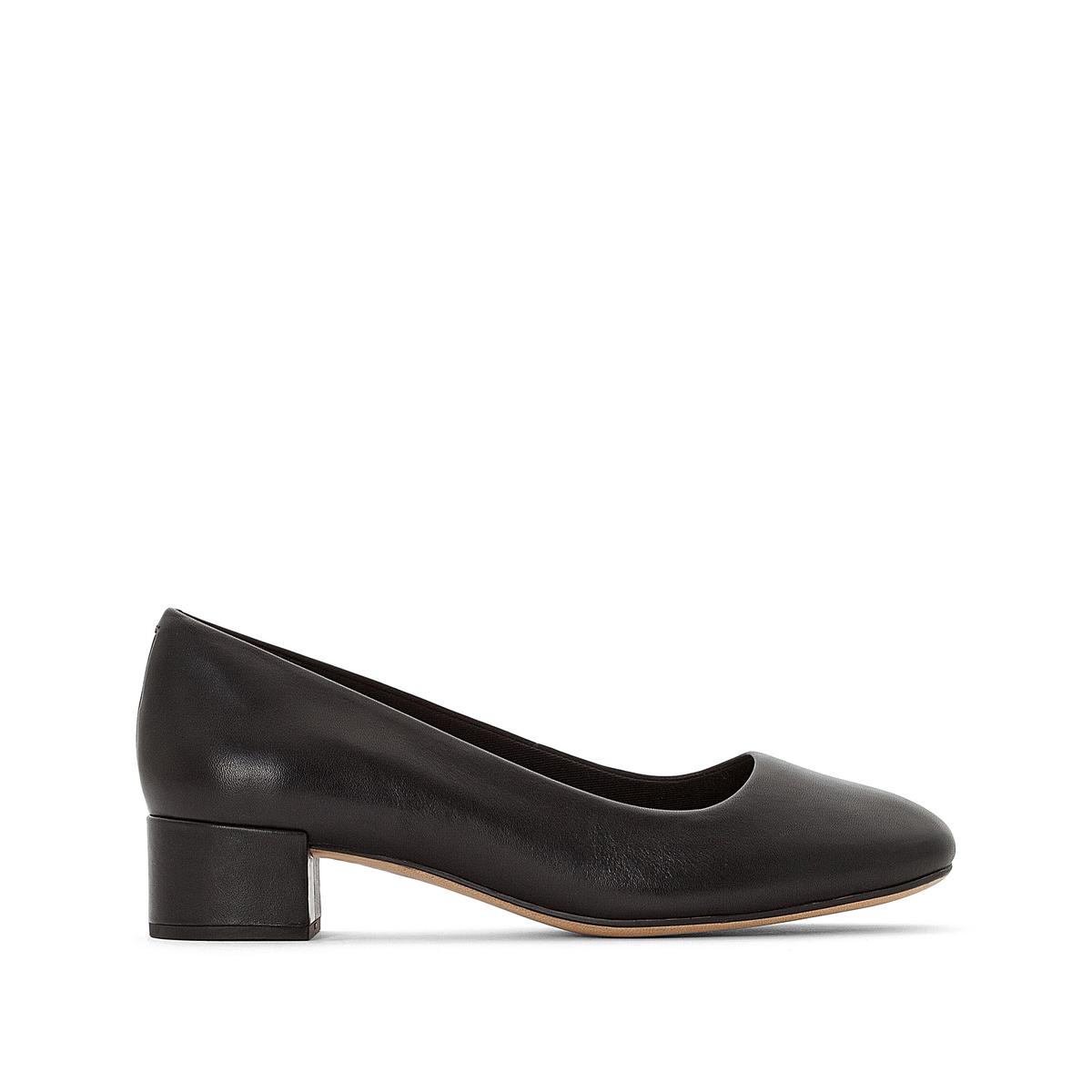 Туфли из кожи на квадратном каблуке  Orabella Alice Clarks