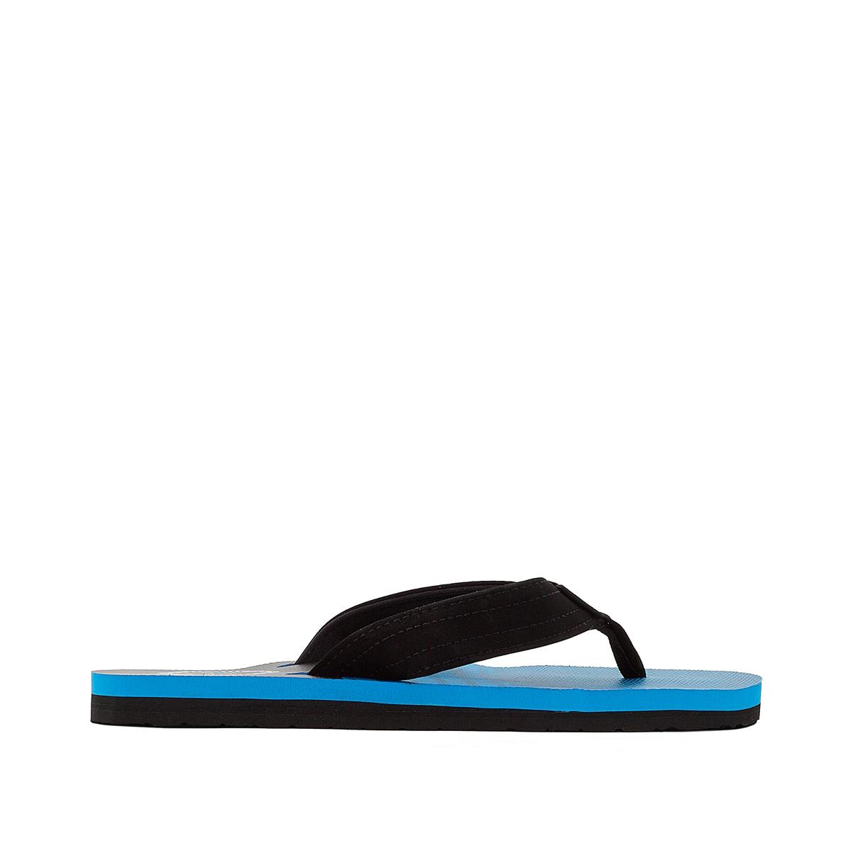 Вьетнамки Ripper+Верх : синтетика   Стелька : синтетика   Подошва : каучук   Форма каблука : плоский каблук   Мысок : открытый мысок   Застежка : без застежки<br><br>Цвет: синий/ черный<br>Размер: 40