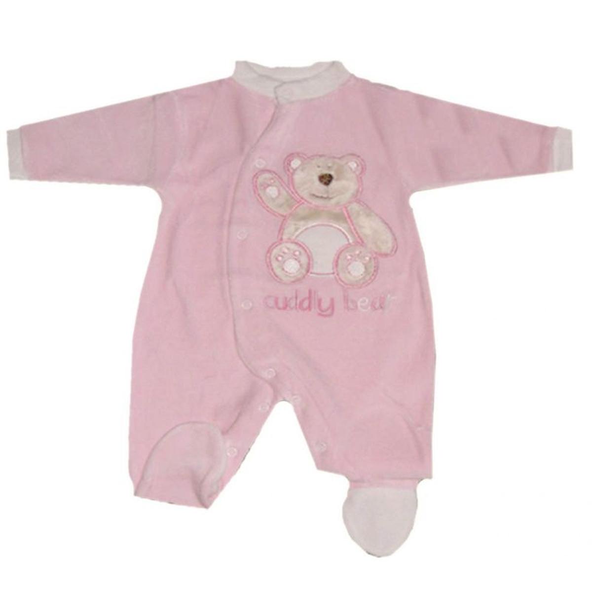 Pyjama manches longues brodé Bear