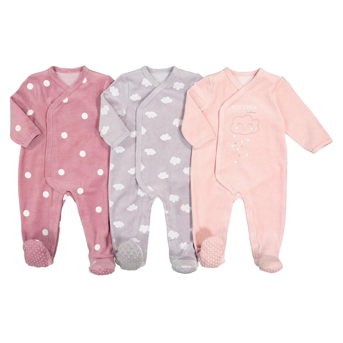 цена Пижамы La Redoute Из велюра - года рожденные раньше срока - 45 см розовый онлайн в 2017 году