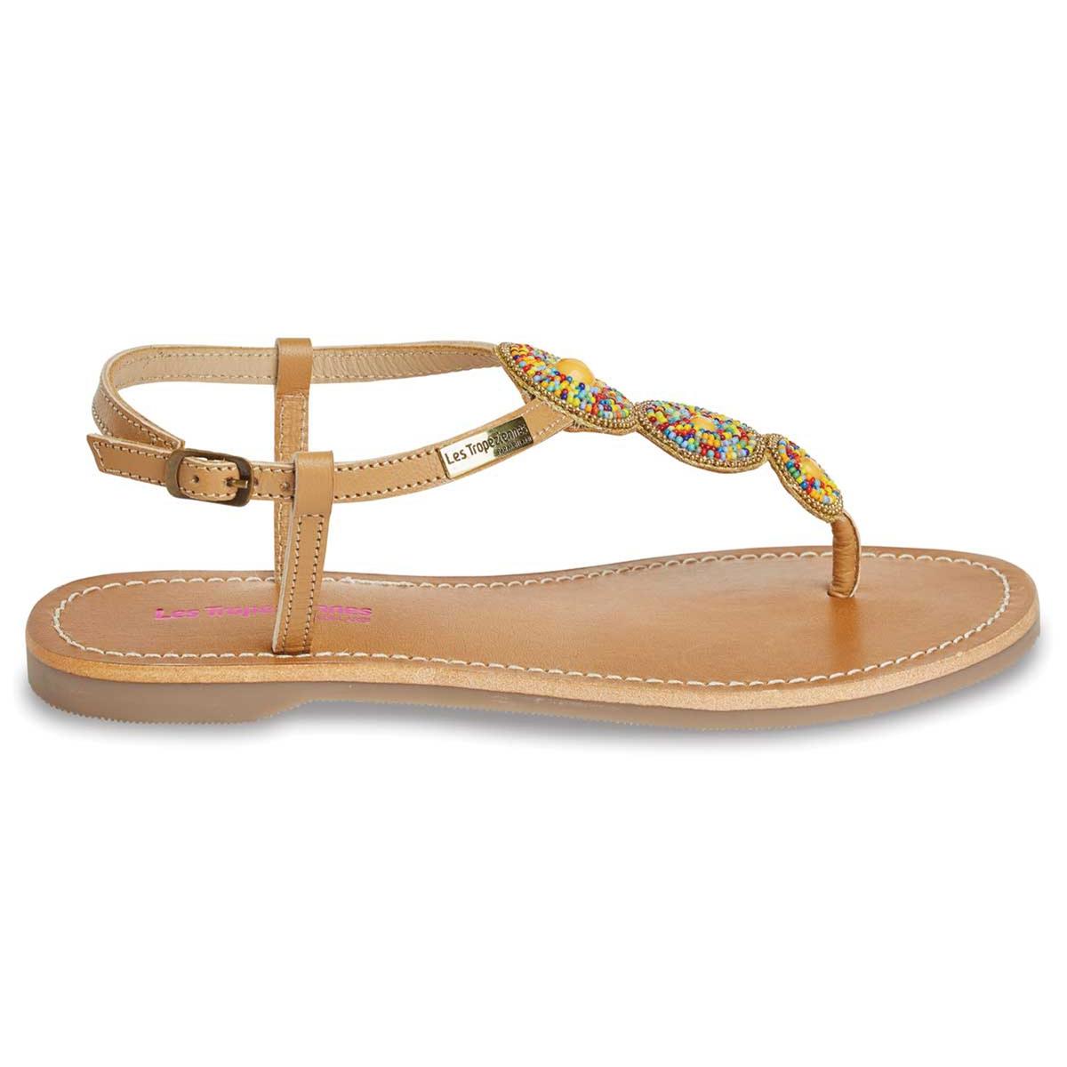 zapatillas Sandalias de piel con tira entre los dedos Orion