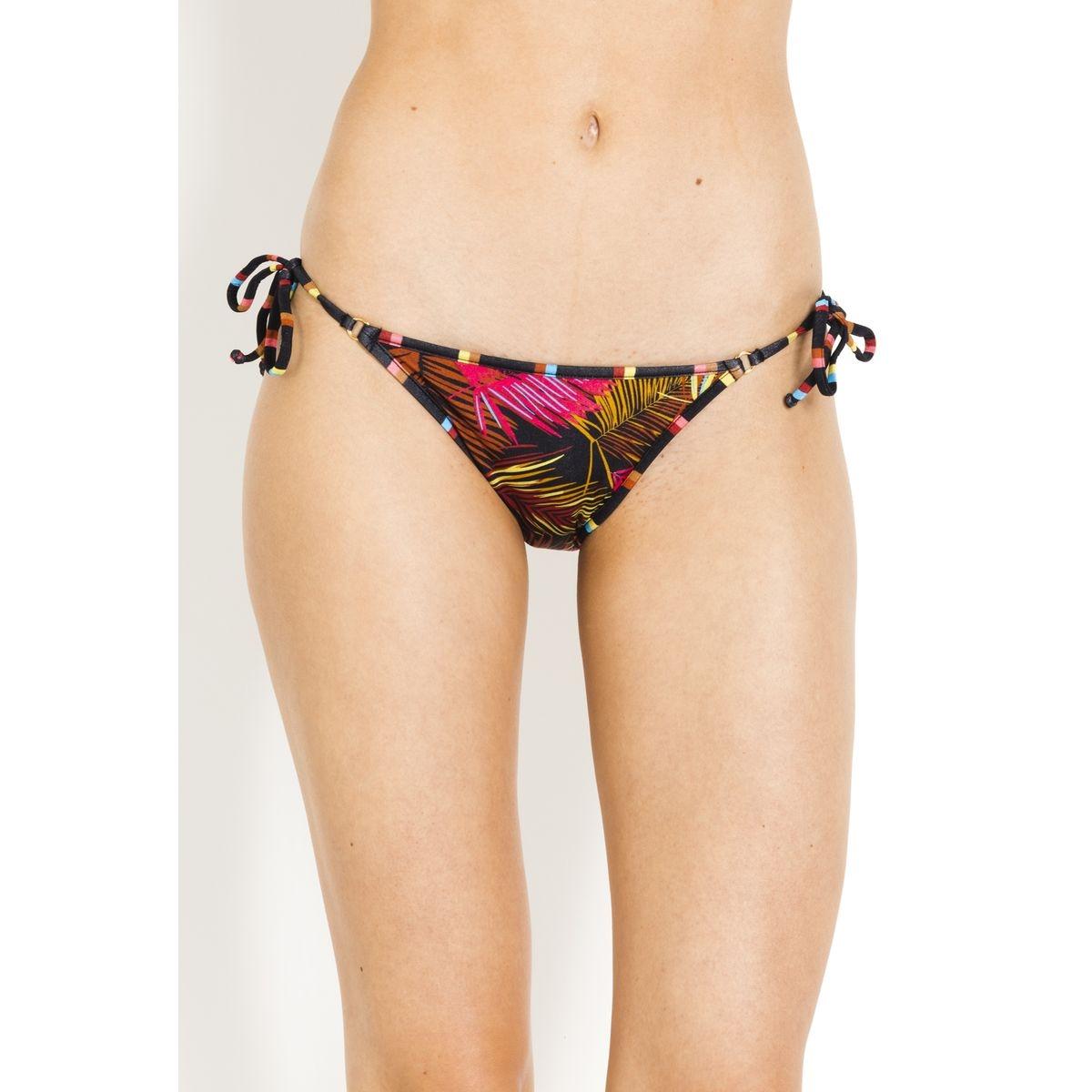 Bas de Bikini noué cotés  Fleurs