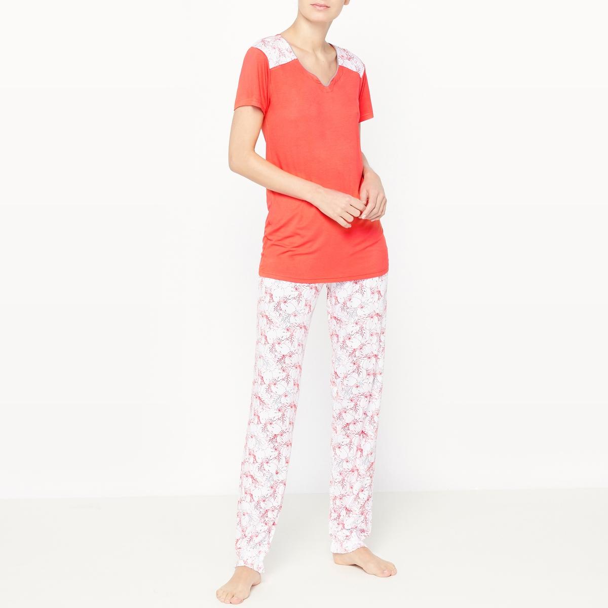 Пижама с короткими рукавами Escape пижама с шортами с рисунком