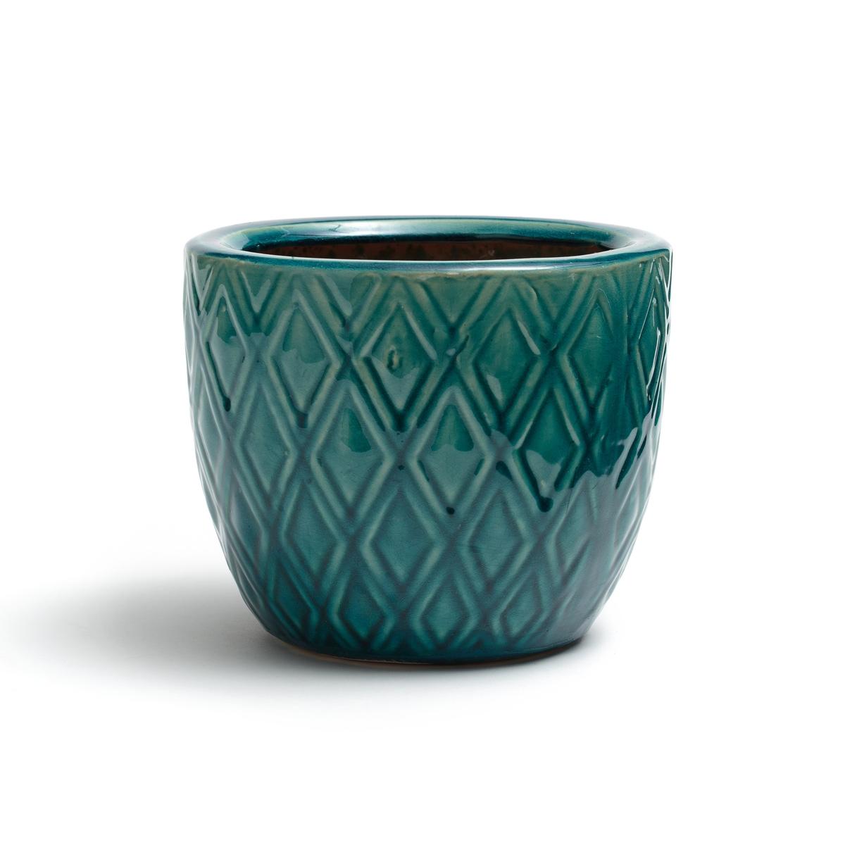 Кашпо La Redoute BANGOR единый размер синий кашпо la redoute из керамики в см euphyllia единый размер синий