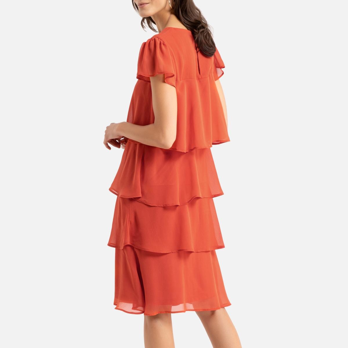 платье с воланом вверху фото разобрал