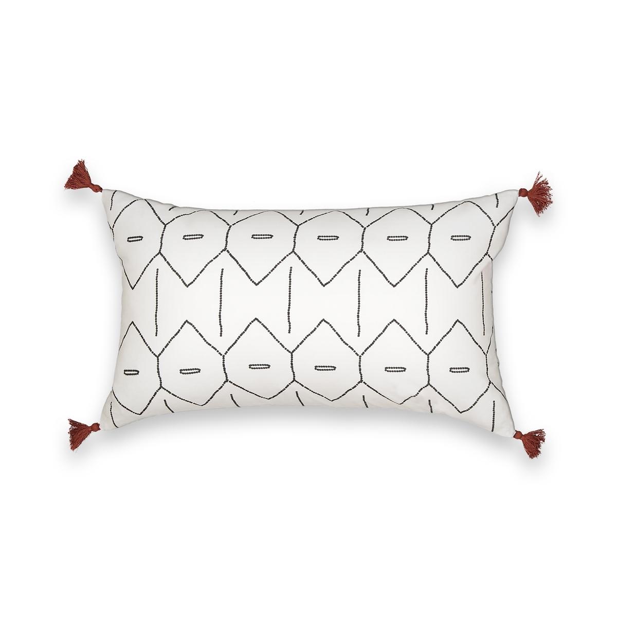 Чехол на подушку-валик с рисунком MIRNI