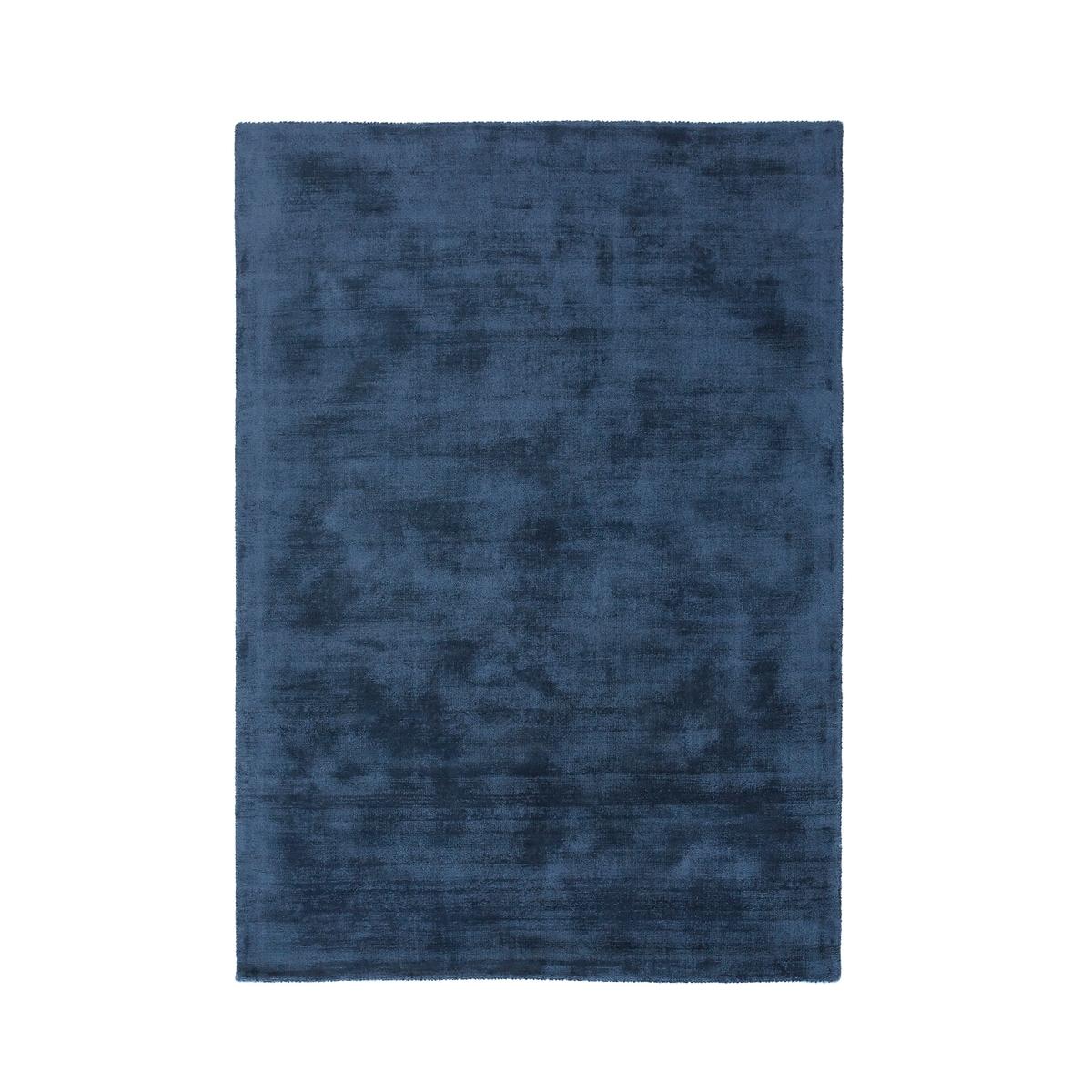 Ковер La Redoute XXL однотонный с эффектом старины вискоза Izri 240 x 330 см синий