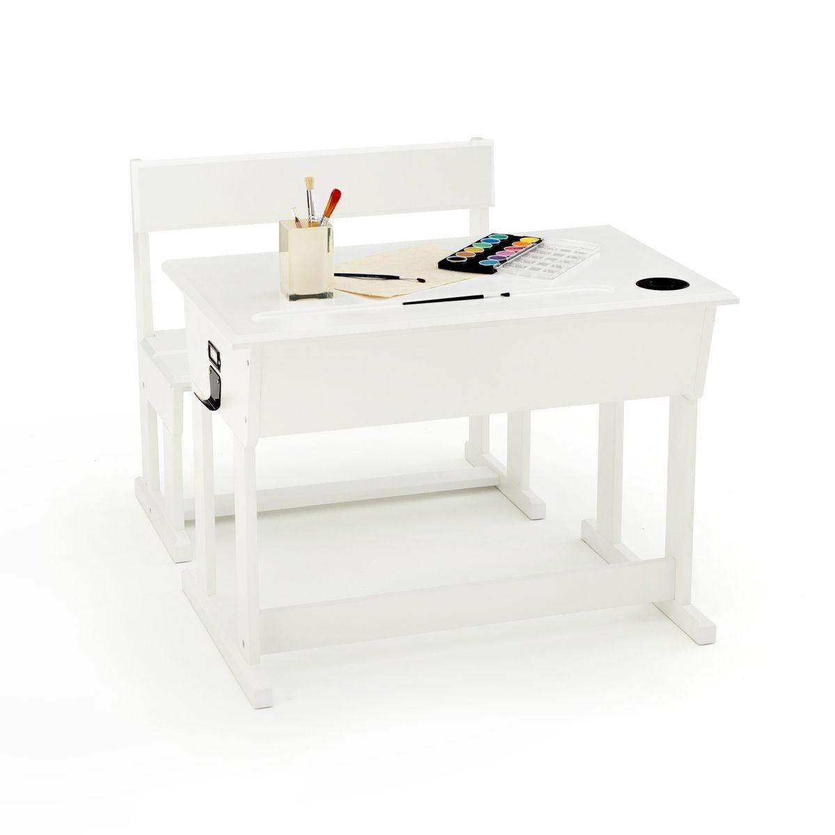 Bureau pupitre + chaise d'écolier, Toudou