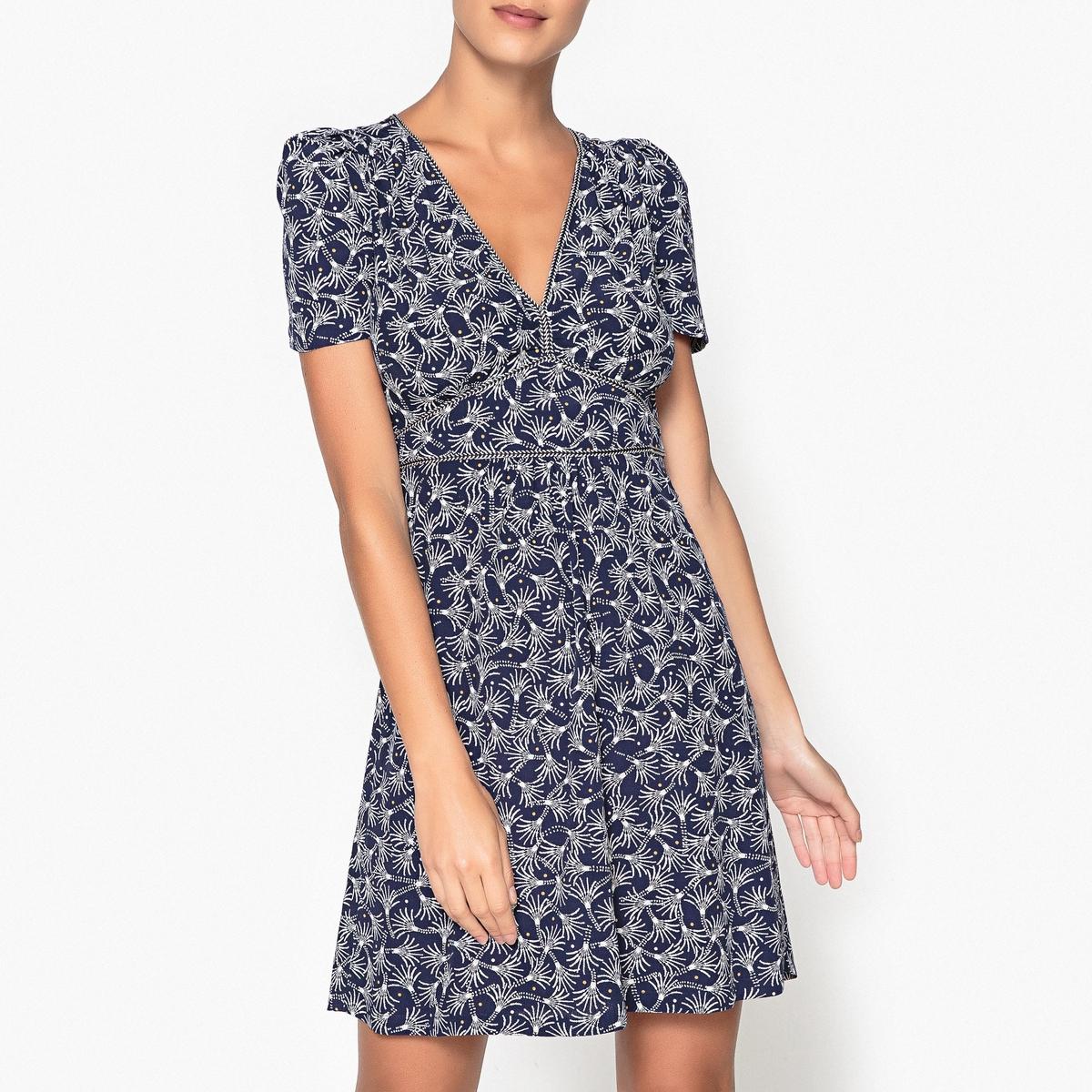 Платье с рисунком JIMAMA плетёная мебель